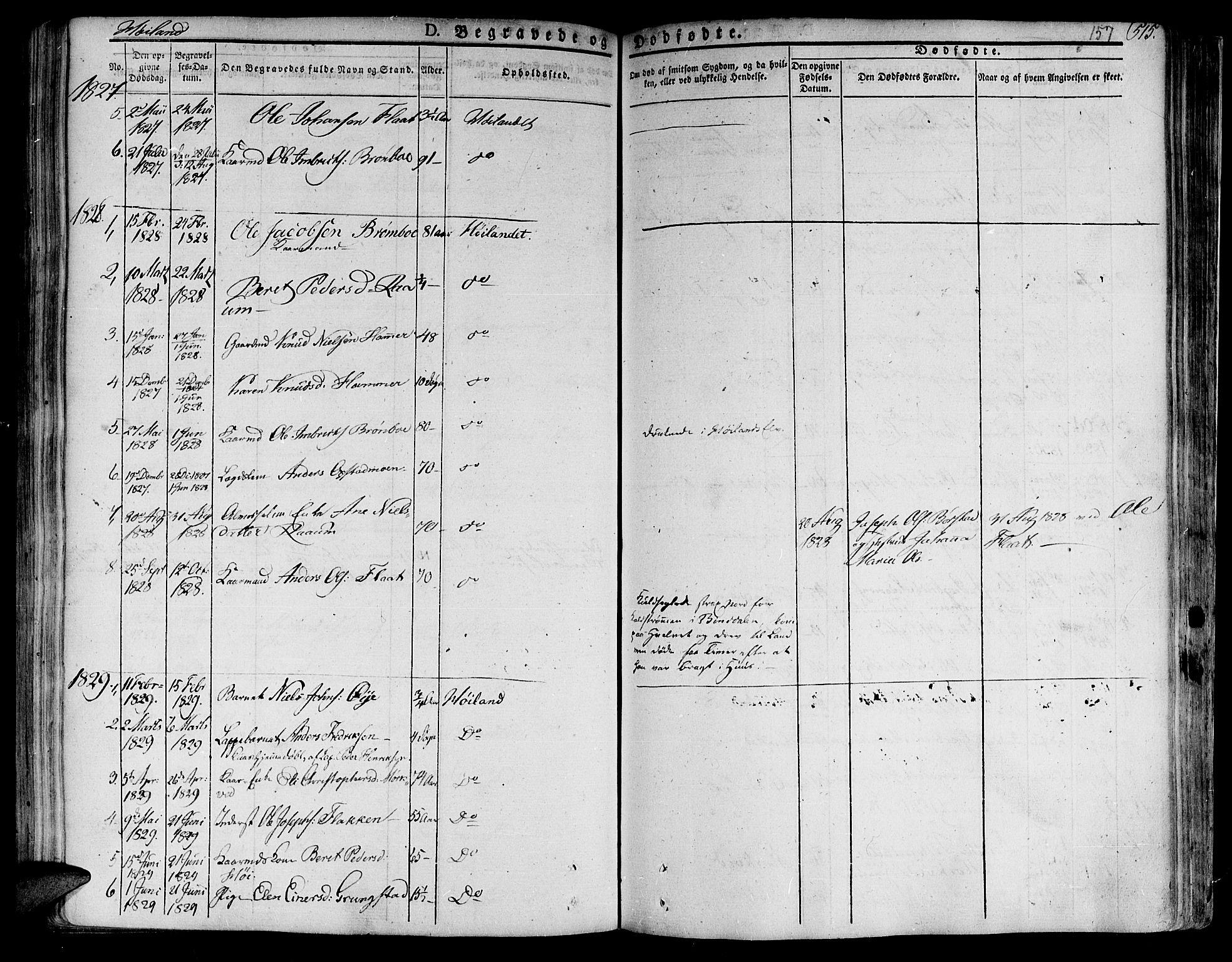 SAT, Ministerialprotokoller, klokkerbøker og fødselsregistre - Nord-Trøndelag, 758/L0510: Ministerialbok nr. 758A01 /2, 1821-1841, s. 157