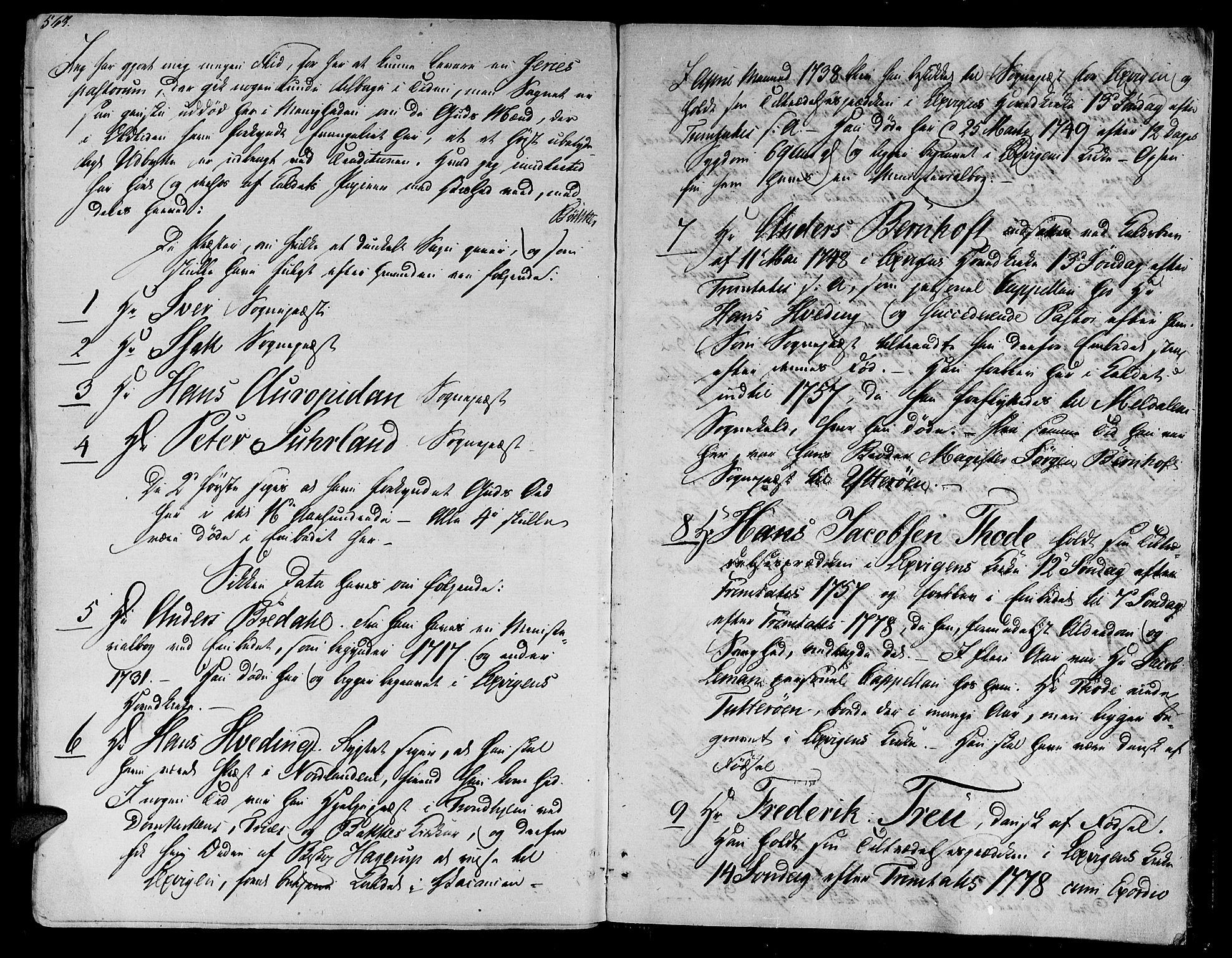 SAT, Ministerialprotokoller, klokkerbøker og fødselsregistre - Nord-Trøndelag, 701/L0006: Ministerialbok nr. 701A06, 1825-1841, s. 563