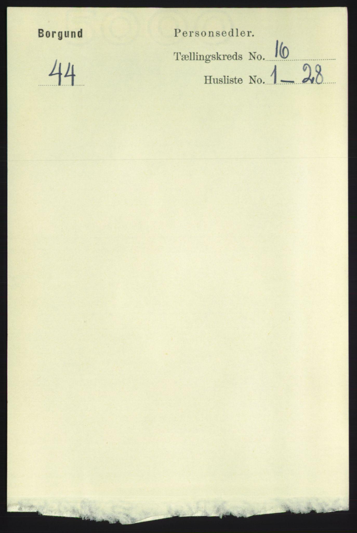 RA, Folketelling 1891 for 1531 Borgund herred, 1891, s. 4772