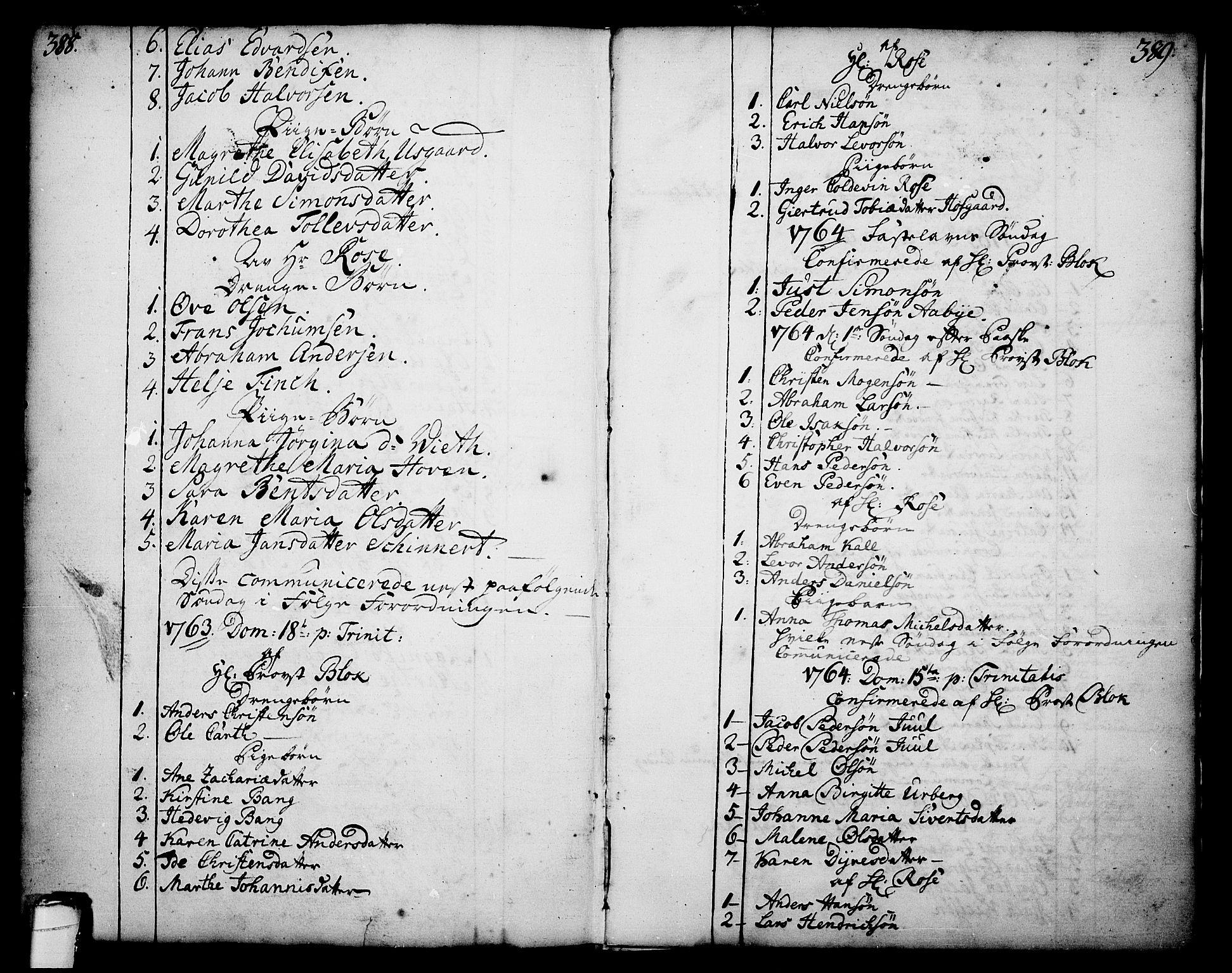 SAKO, Skien kirkebøker, F/Fa/L0003: Ministerialbok nr. 3, 1755-1791, s. 388-389