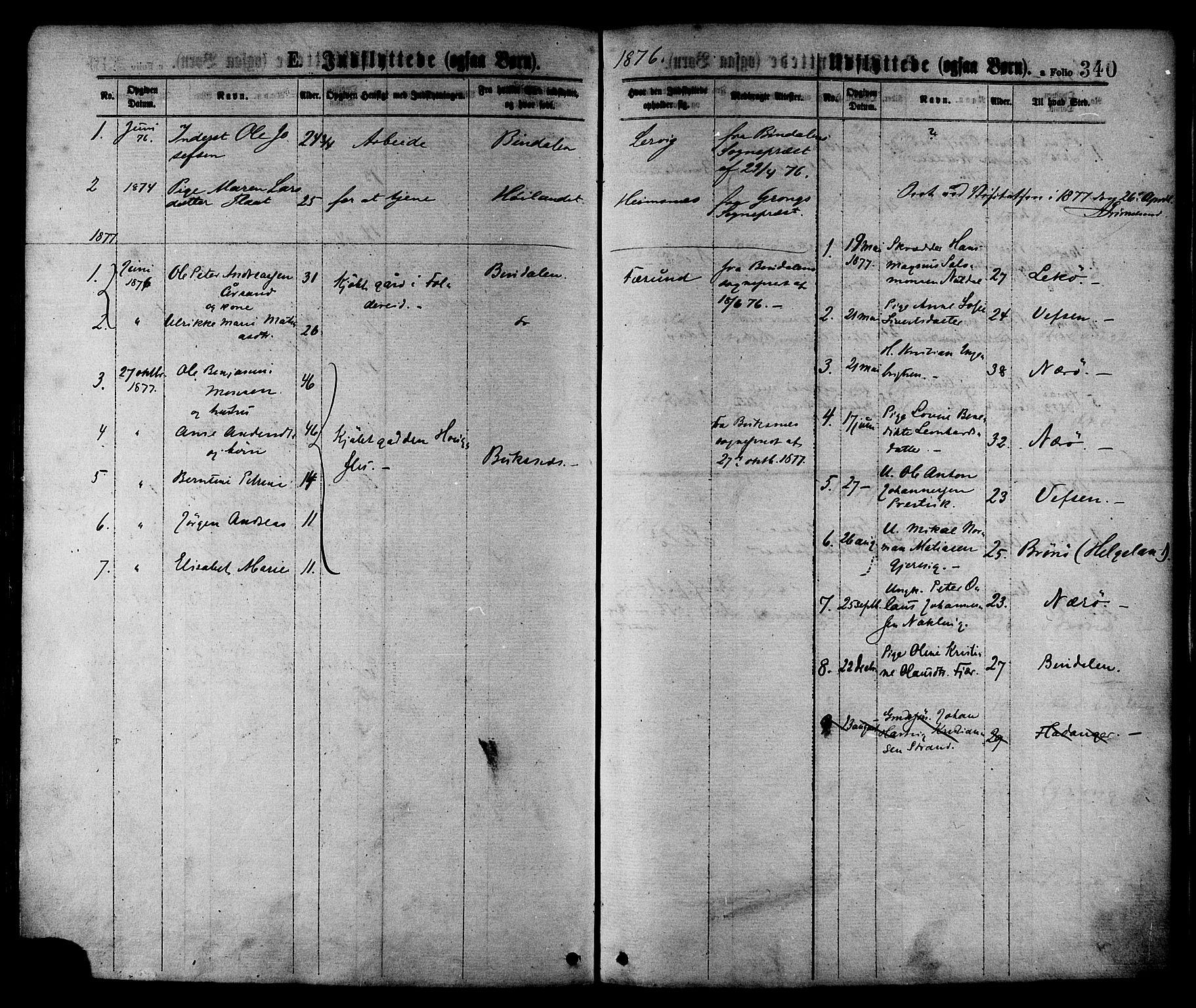 SAT, Ministerialprotokoller, klokkerbøker og fødselsregistre - Nord-Trøndelag, 780/L0642: Ministerialbok nr. 780A07 /1, 1874-1885, s. 340