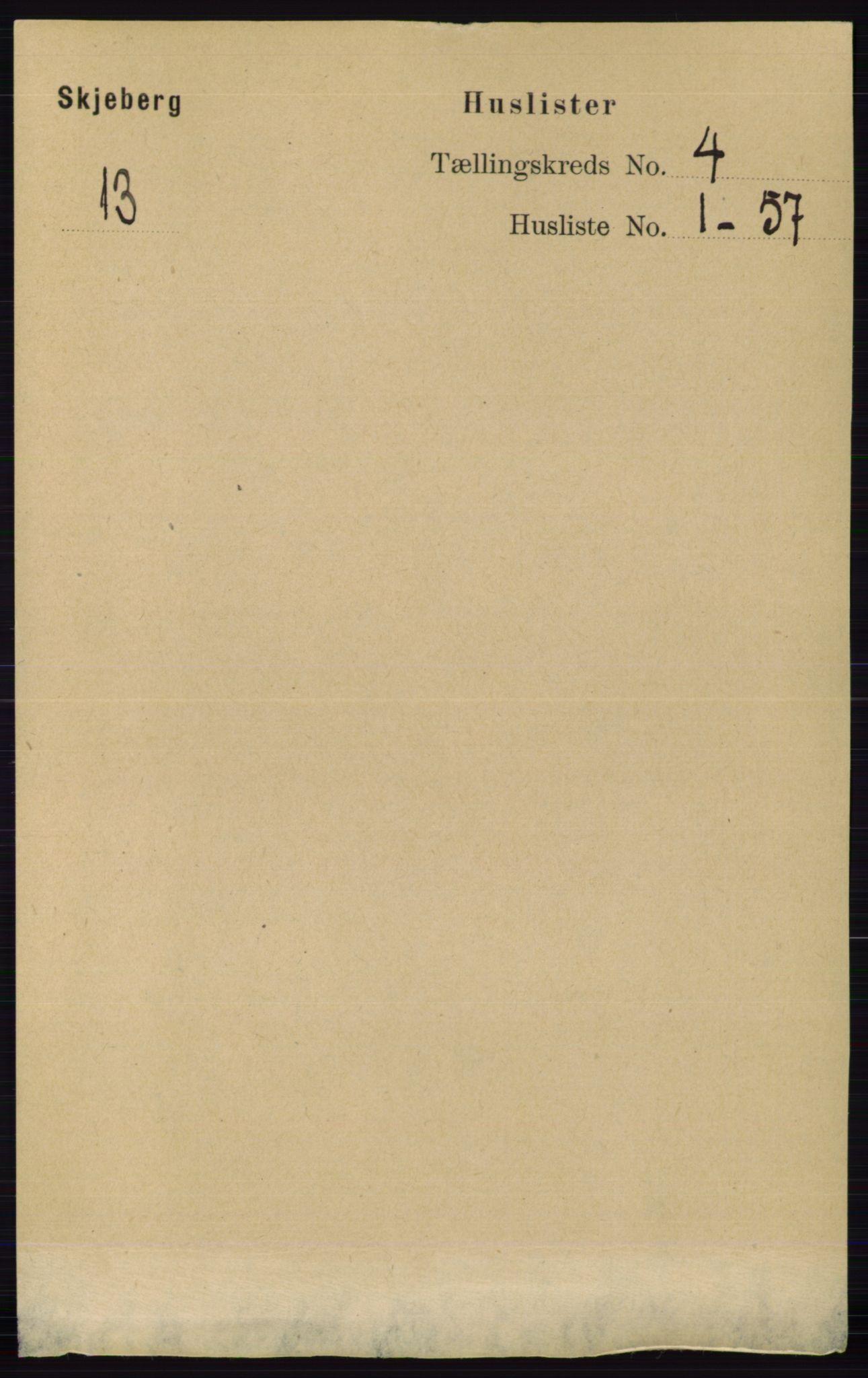 RA, Folketelling 1891 for 0115 Skjeberg herred, 1891, s. 1804