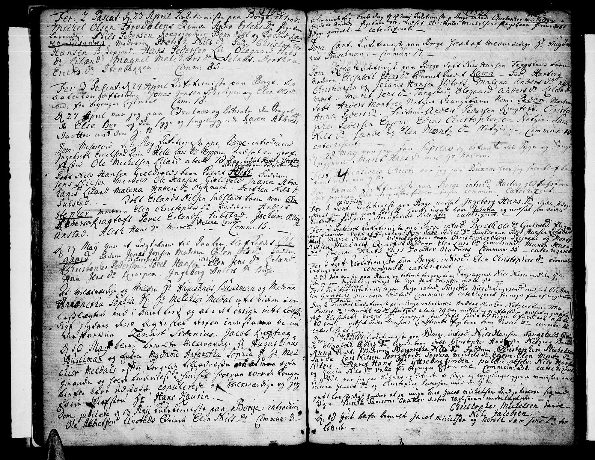 SAT, Ministerialprotokoller, klokkerbøker og fødselsregistre - Nordland, 880/L1127: Ministerialbok nr. 880A01, 1750-1774