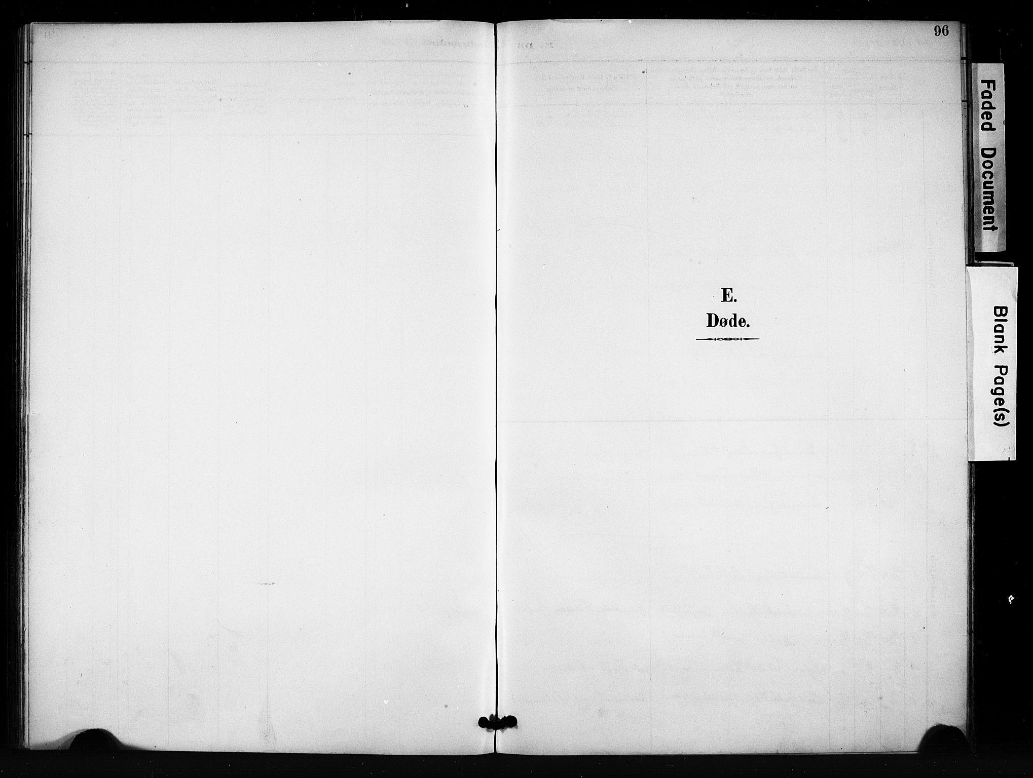SAH, Vang prestekontor, Valdres, Klokkerbok nr. 7, 1893-1924, s. 96