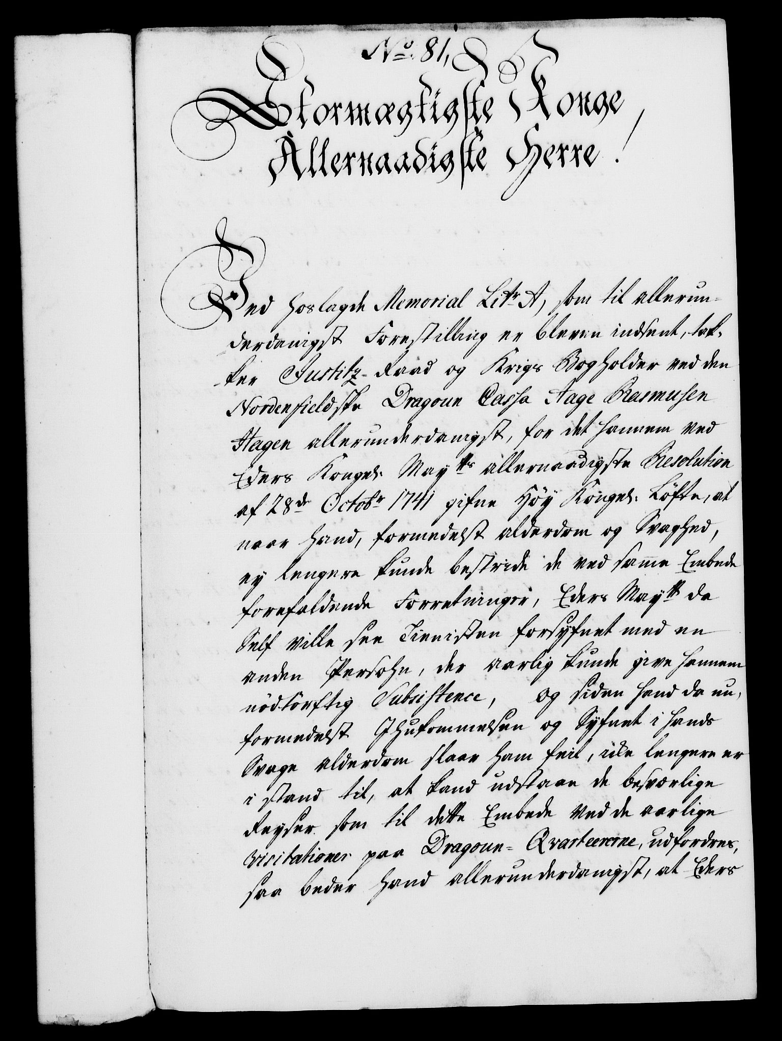 RA, Rentekammeret, Kammerkanselliet, G/Gf/Gfa/L0028: Norsk relasjons- og resolusjonsprotokoll (merket RK 52.28), 1745-1746, s. 502