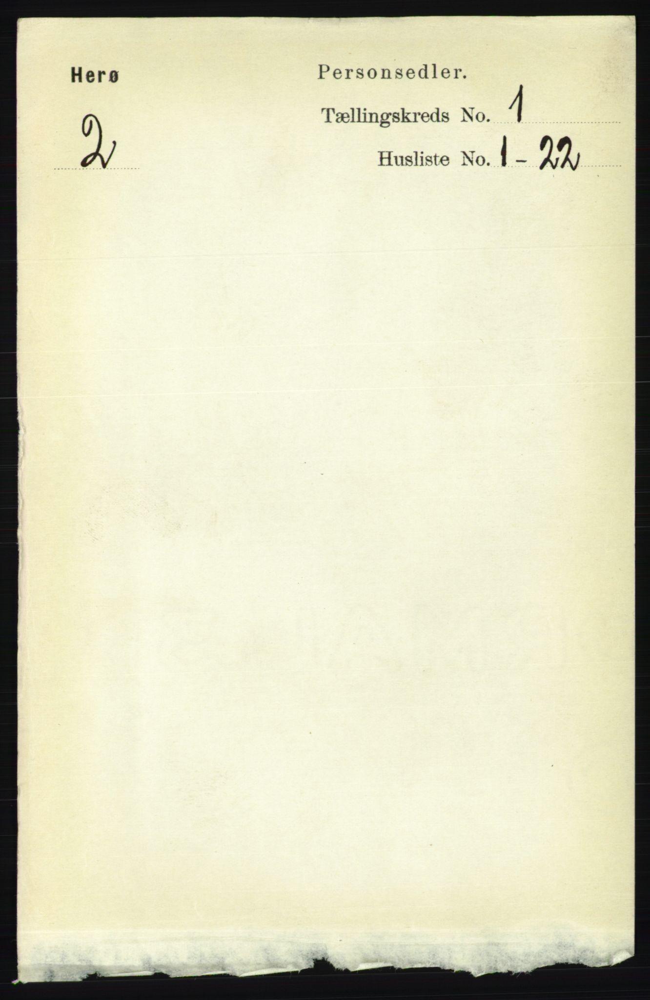 RA, Folketelling 1891 for 1818 Herøy herred, 1891, s. 53