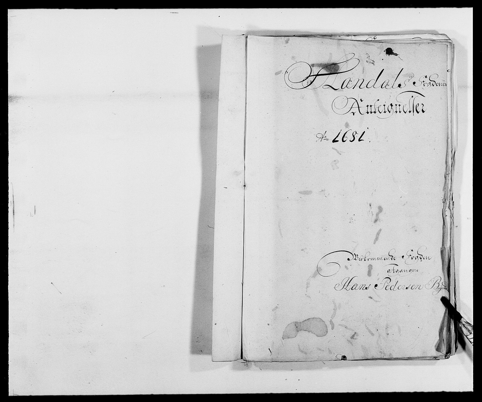 RA, Rentekammeret inntil 1814, Reviderte regnskaper, Fogderegnskap, R42/L2541: Mandal fogderi, 1681-1684, s. 45