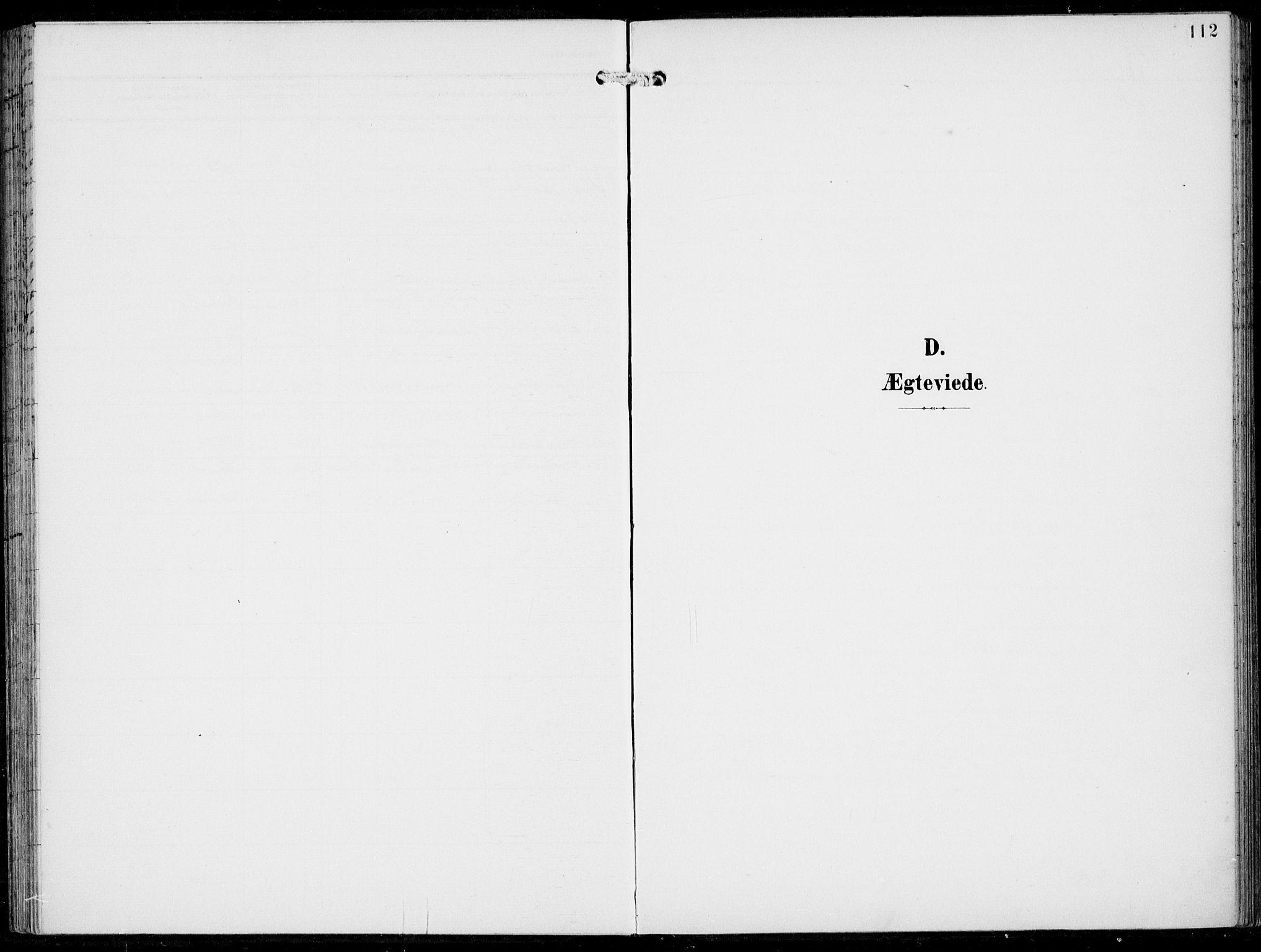 SAB, Haus Sokneprestembete, H/Haa: Ministerialbok nr. B  2, 1899-1912, s. 112