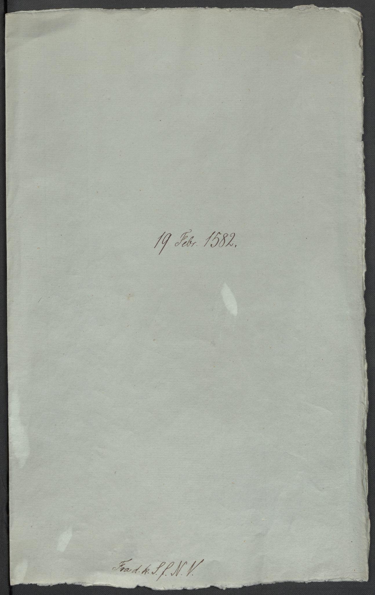 RA, Riksarkivets diplomsamling, F02/L0084: Dokumenter, 1582, s. 2