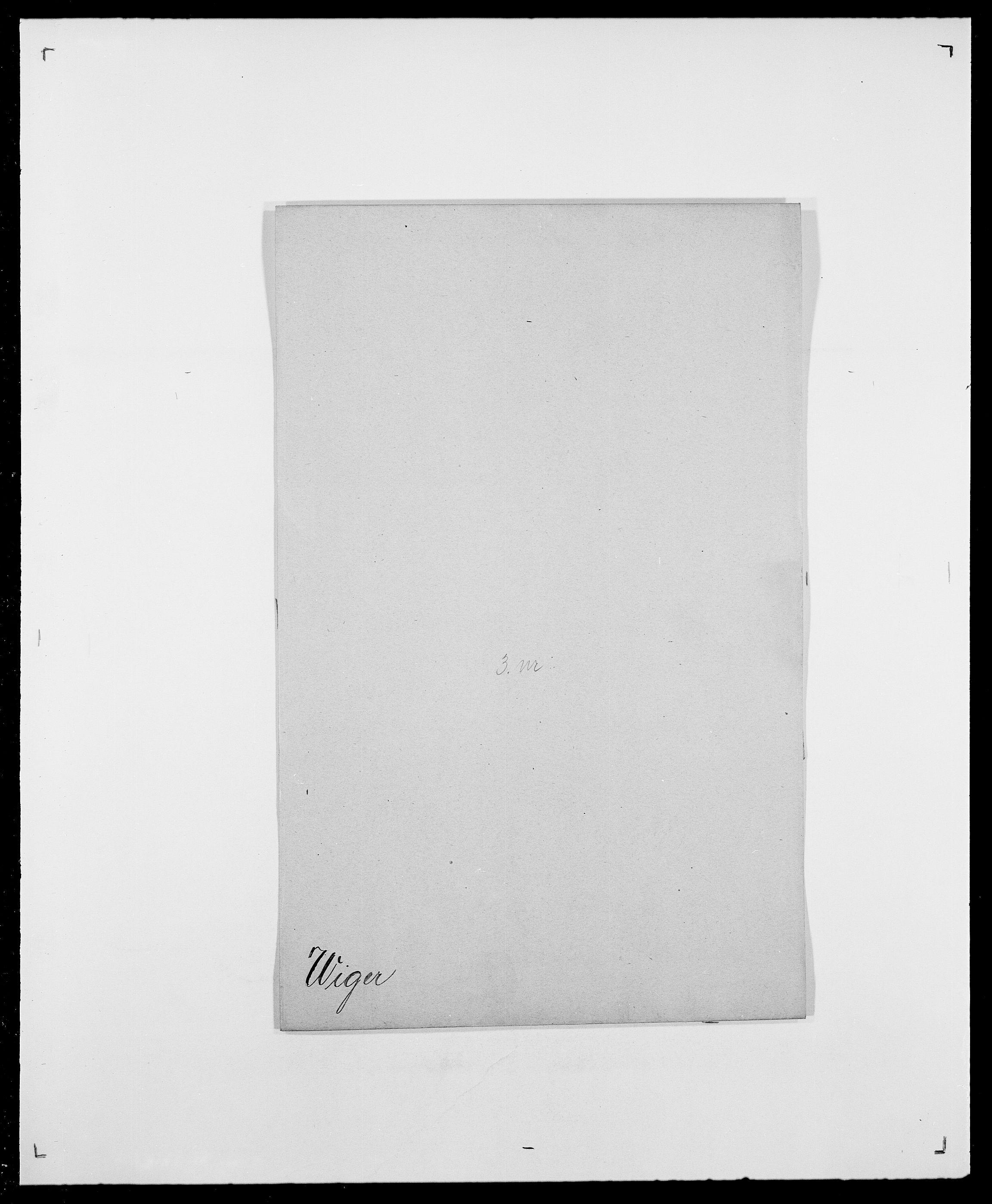 SAO, Delgobe, Charles Antoine - samling, D/Da/L0041: Vemmestad - Viker, s. 692
