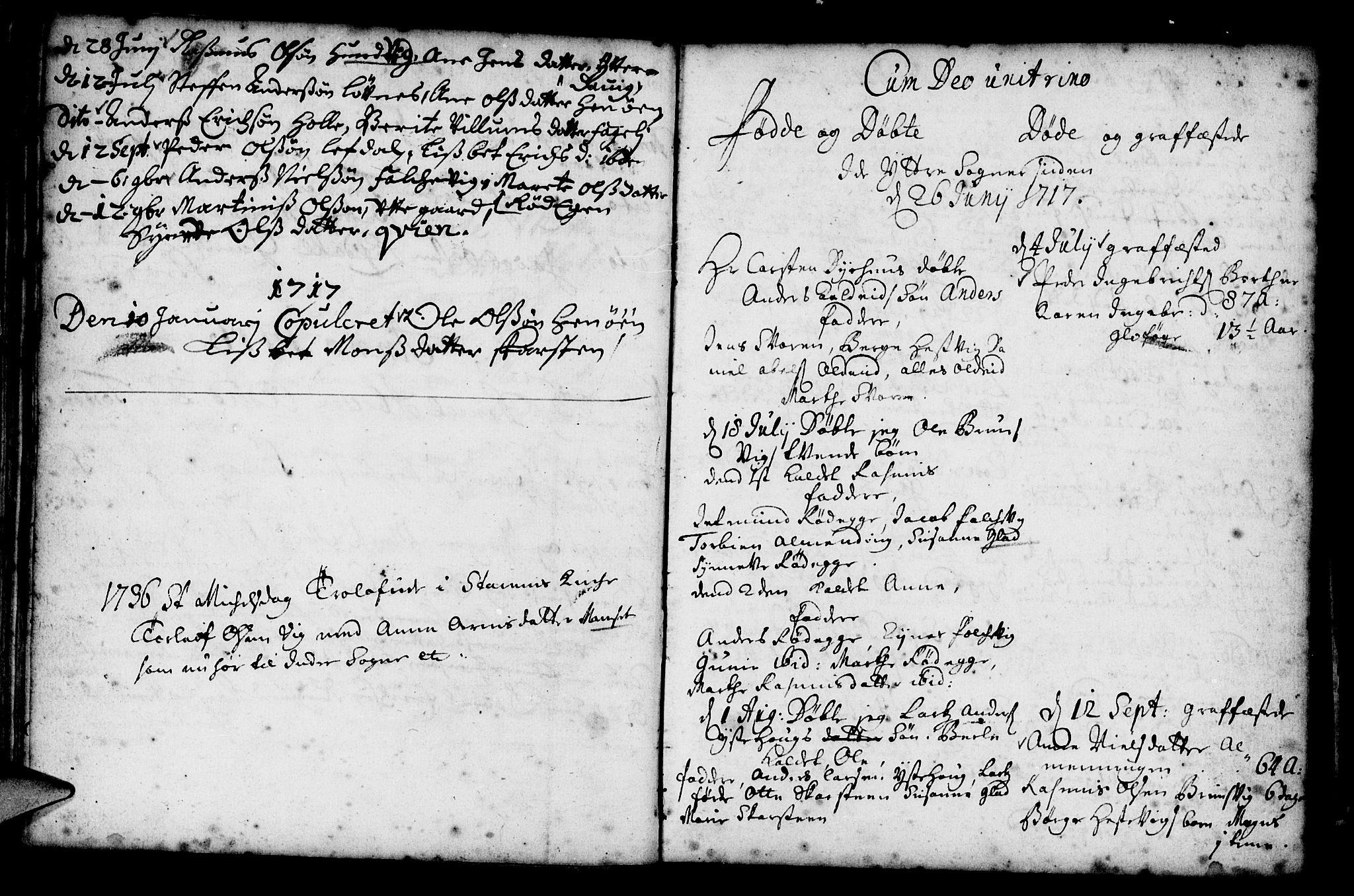 SAB, Davik Sokneprestembete, Ministerialbok nr. A 1, 1710-1742, s. 40