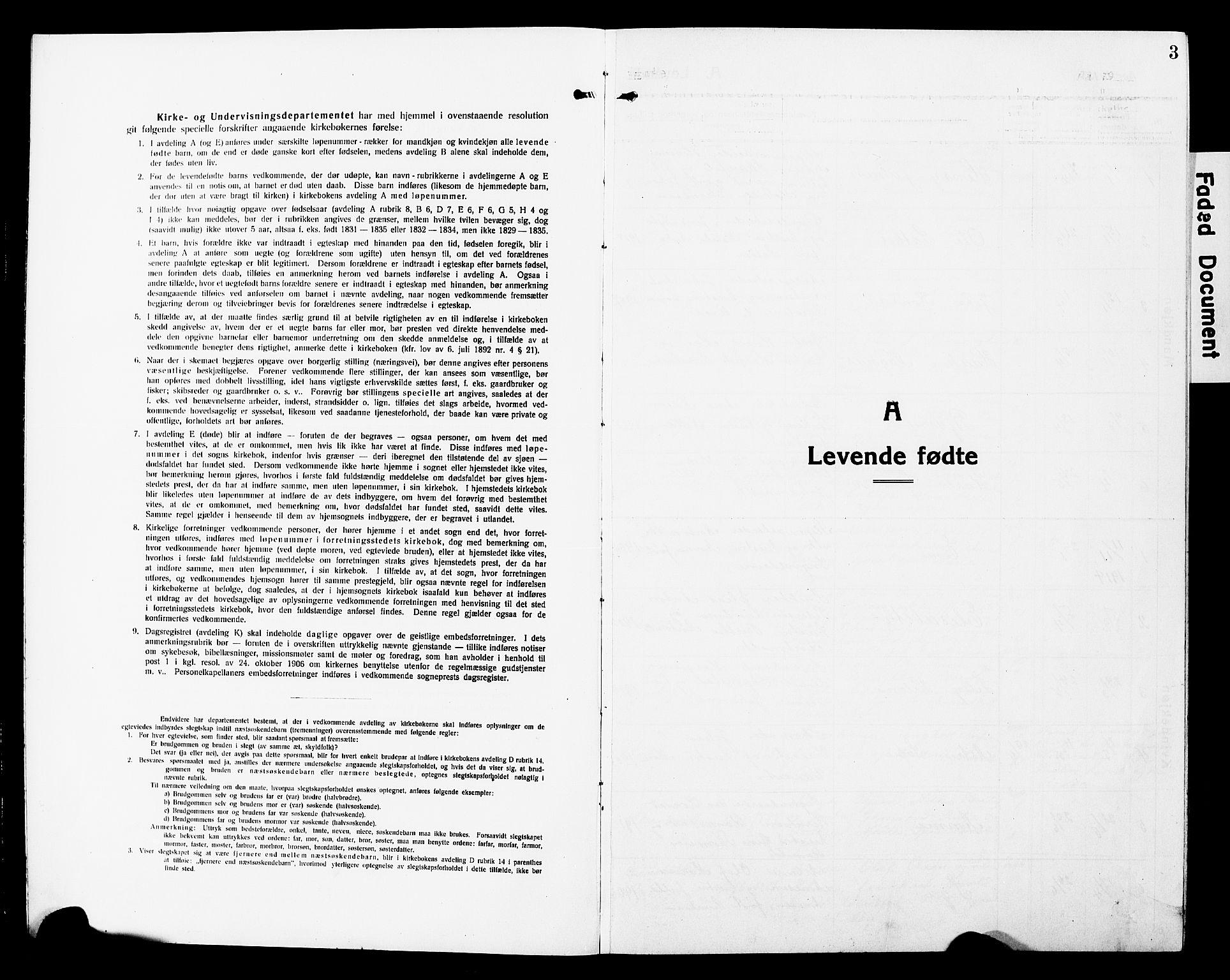 SAT, Ministerialprotokoller, klokkerbøker og fødselsregistre - Nord-Trøndelag, 740/L0382: Klokkerbok nr. 740C03, 1915-1927, s. 3