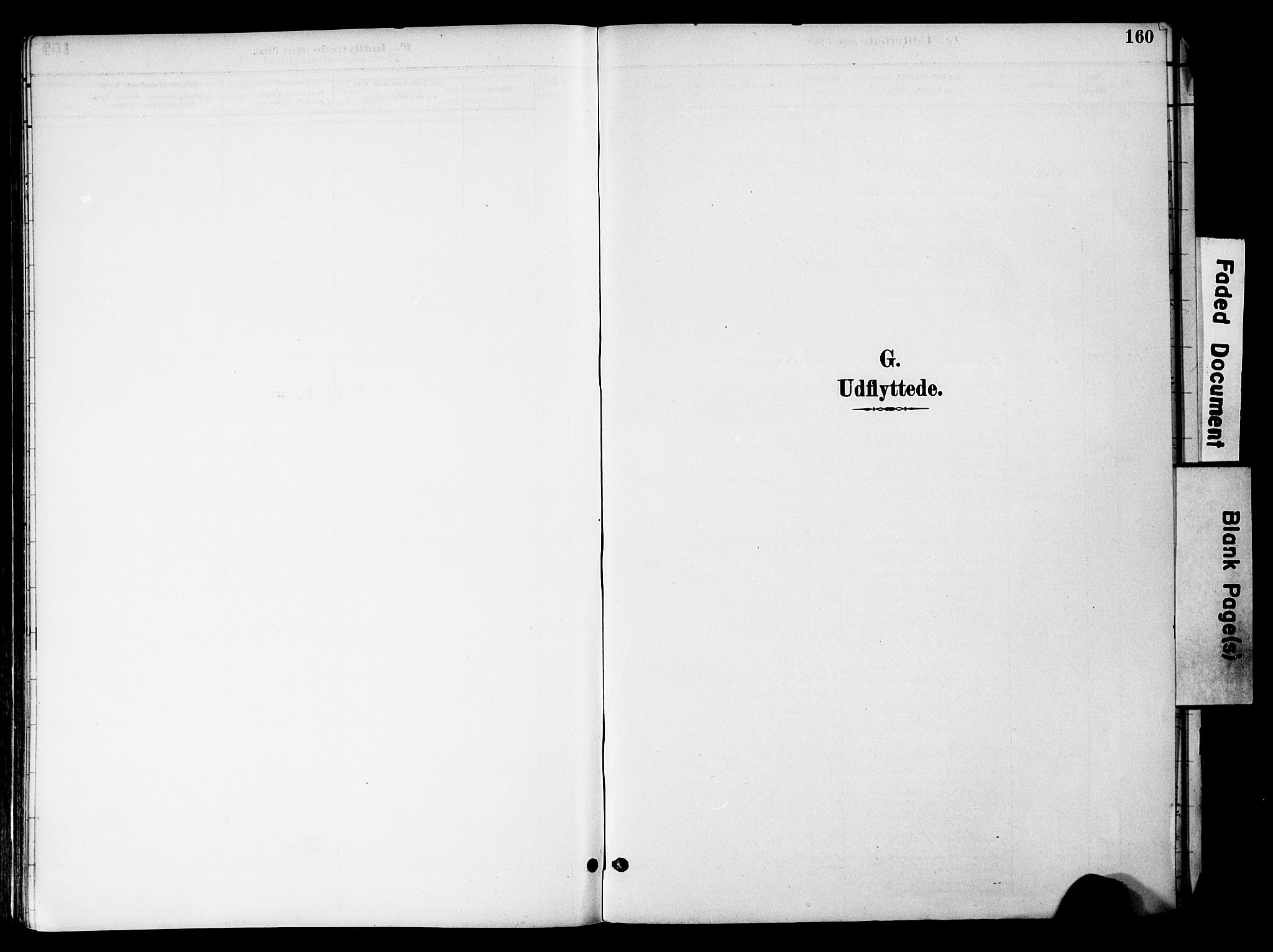 SAH, Gran prestekontor, Ministerialbok nr. 20, 1889-1899, s. 160
