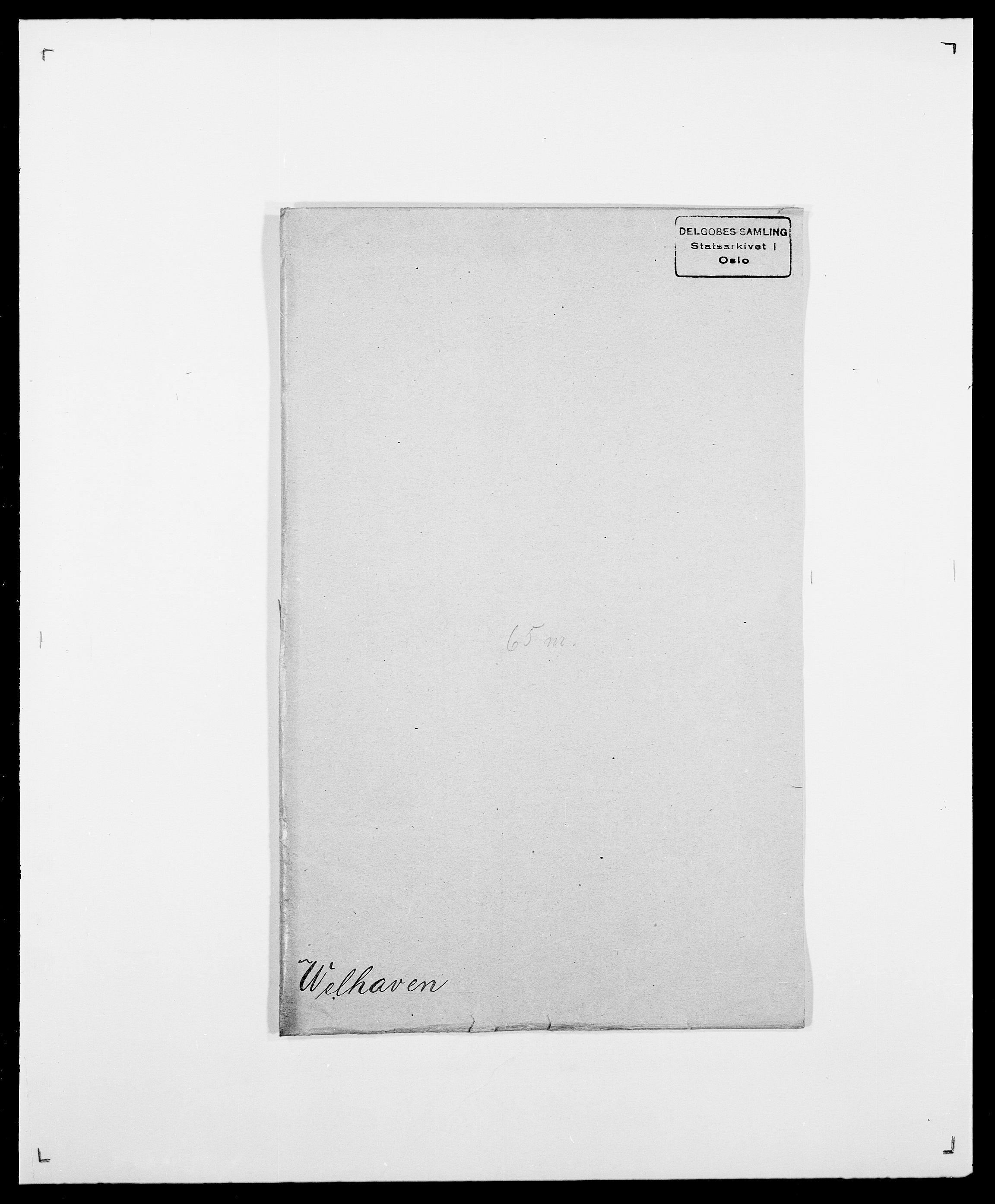 SAO, Delgobe, Charles Antoine - samling, D/Da/L0040: Usgaard - Velund, s. 633