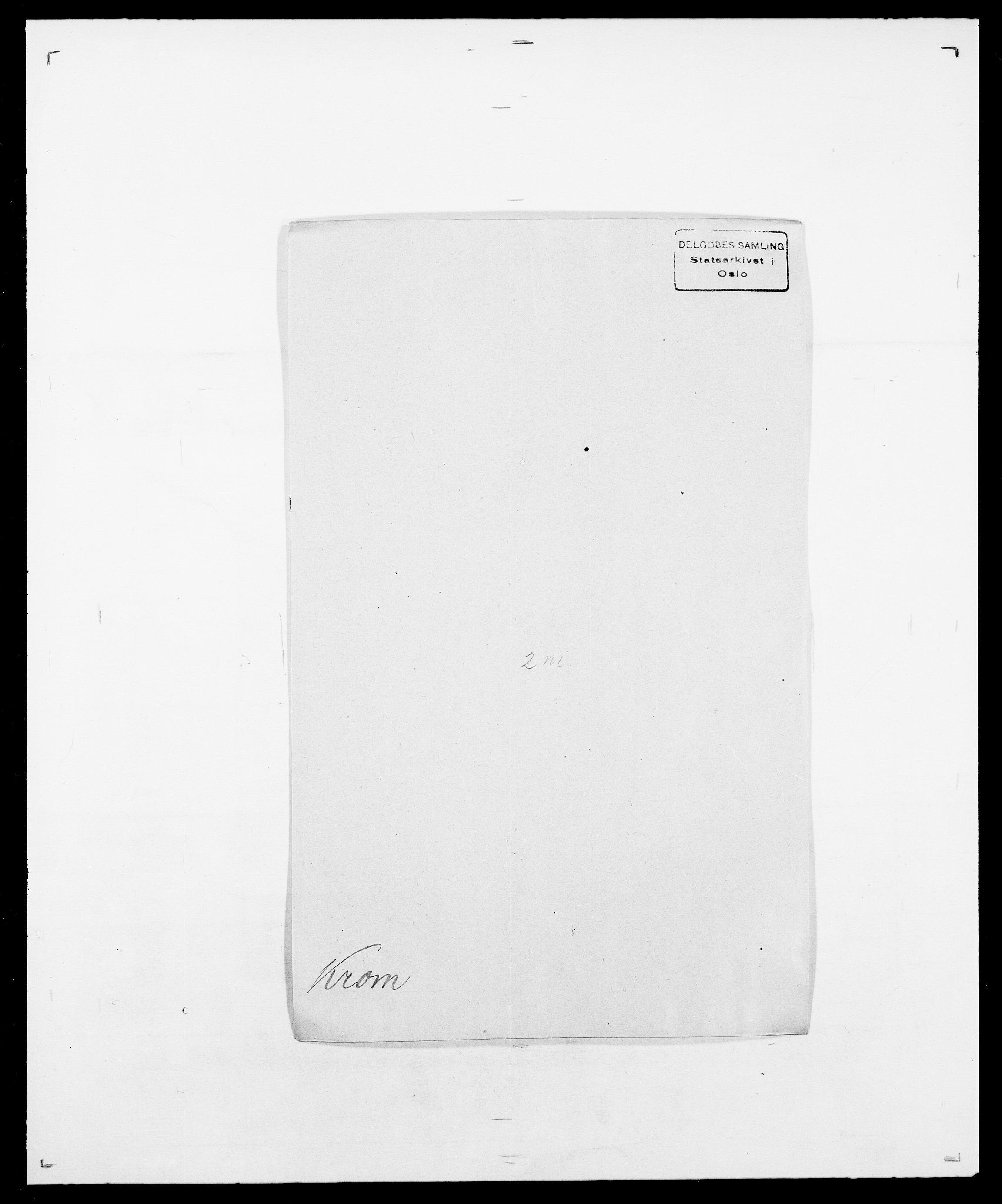 SAO, Delgobe, Charles Antoine - samling, D/Da/L0022: Krog - Lasteen, s. 93