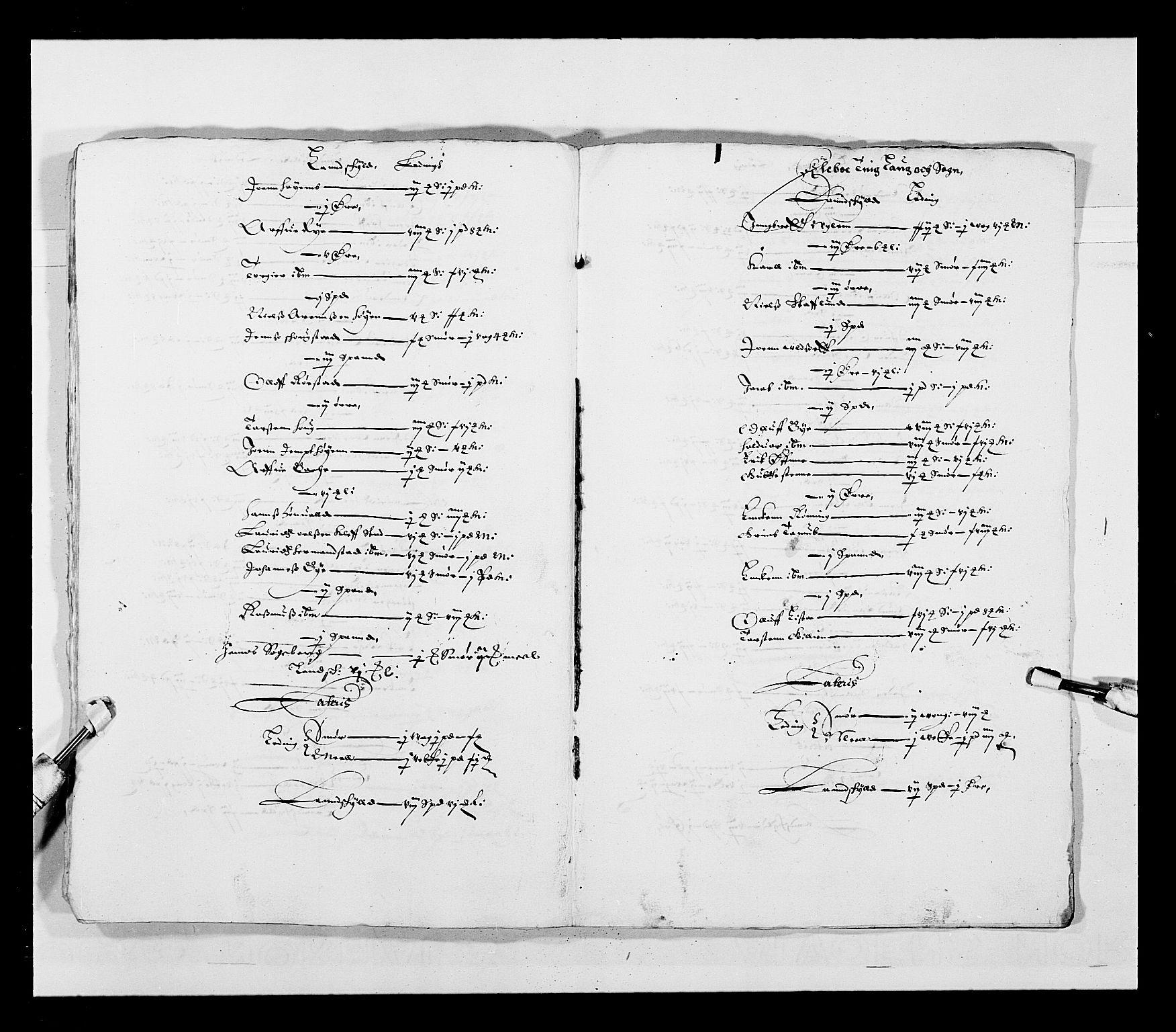 RA, Stattholderembetet 1572-1771, Ek/L0028: Jordebøker 1633-1658:, 1645-1646, s. 174