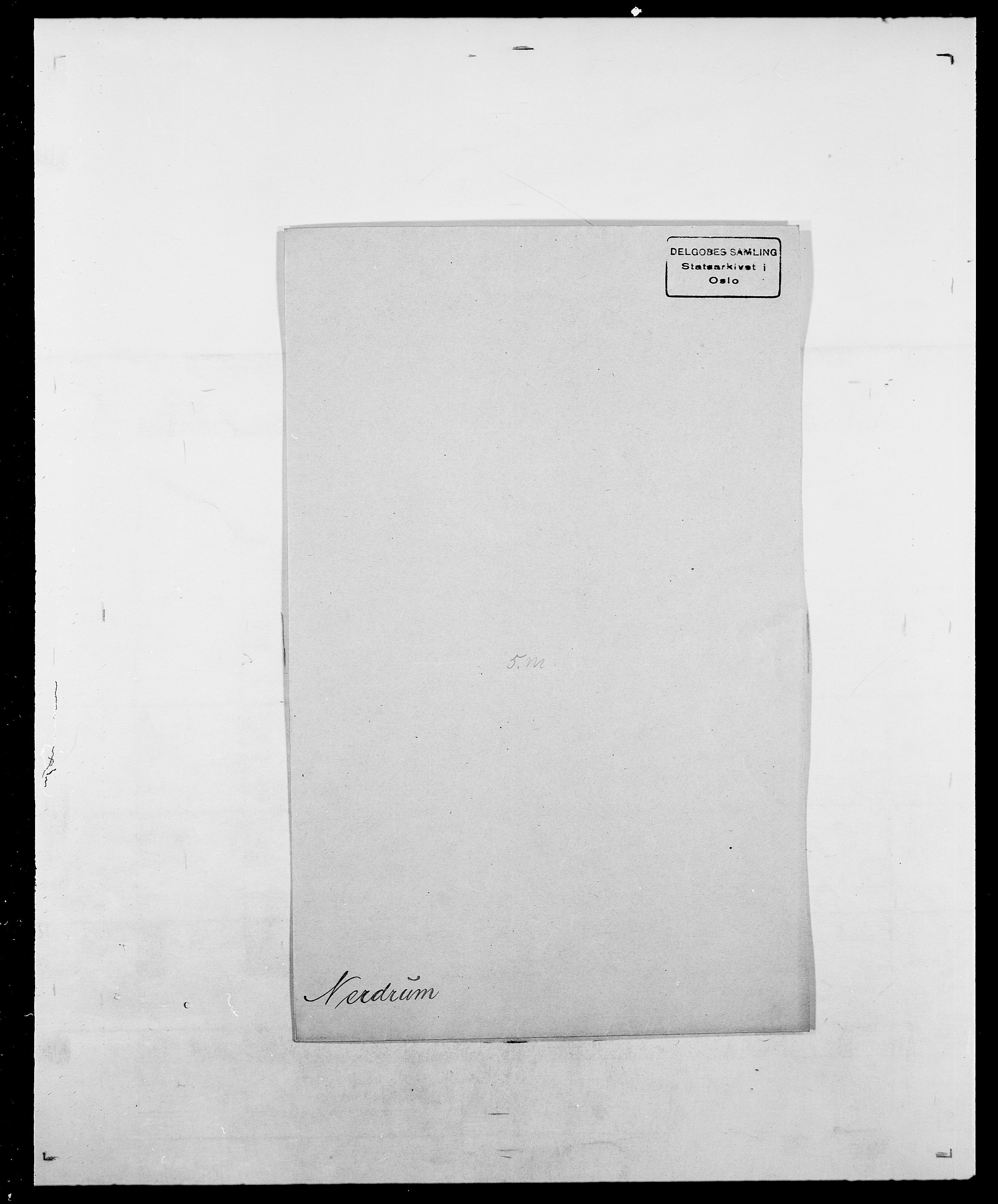 SAO, Delgobe, Charles Antoine - samling, D/Da/L0028: Naaden - Nøvik, s. 106