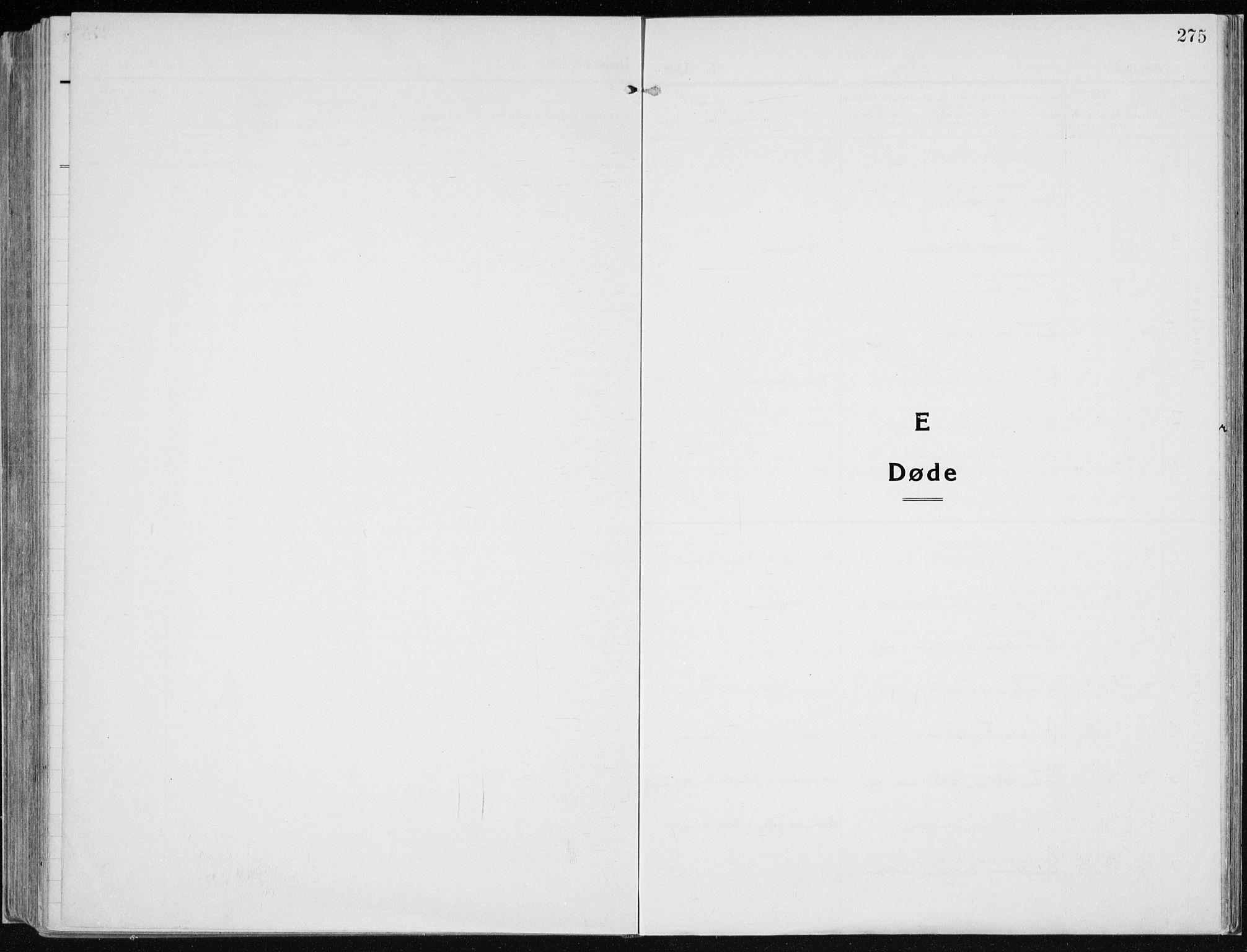 SAH, Vardal prestekontor, H/Ha/Haa/L0015: Ministerialbok nr. 15, 1923-1937, s. 275