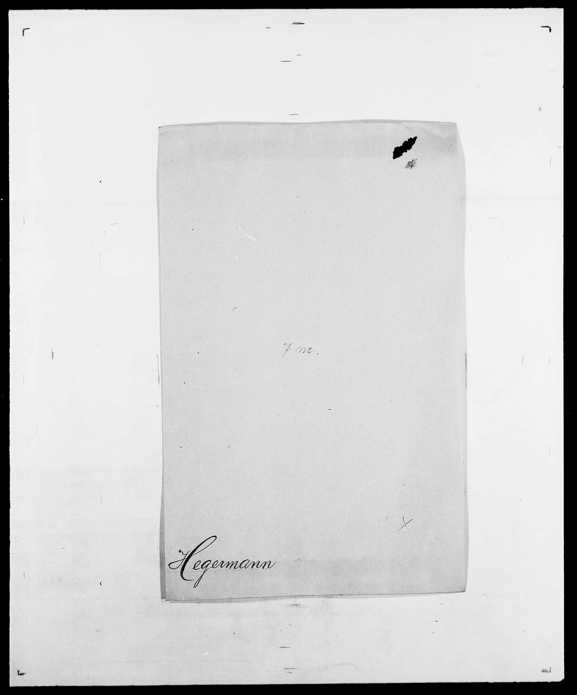 SAO, Delgobe, Charles Antoine - samling, D/Da/L0016: Hamborg - Hektoen, s. 717