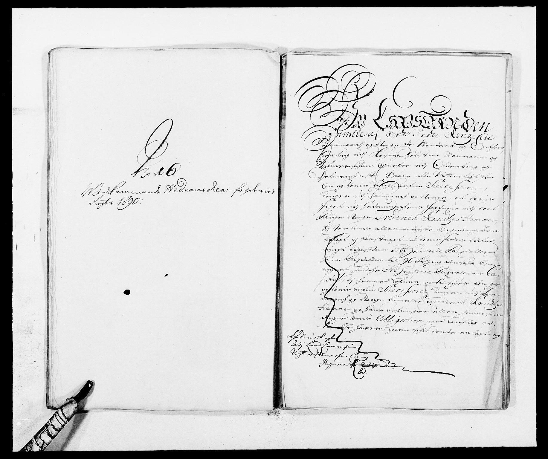 RA, Rentekammeret inntil 1814, Reviderte regnskaper, Fogderegnskap, R16/L1031: Fogderegnskap Hedmark, 1689-1692, s. 243