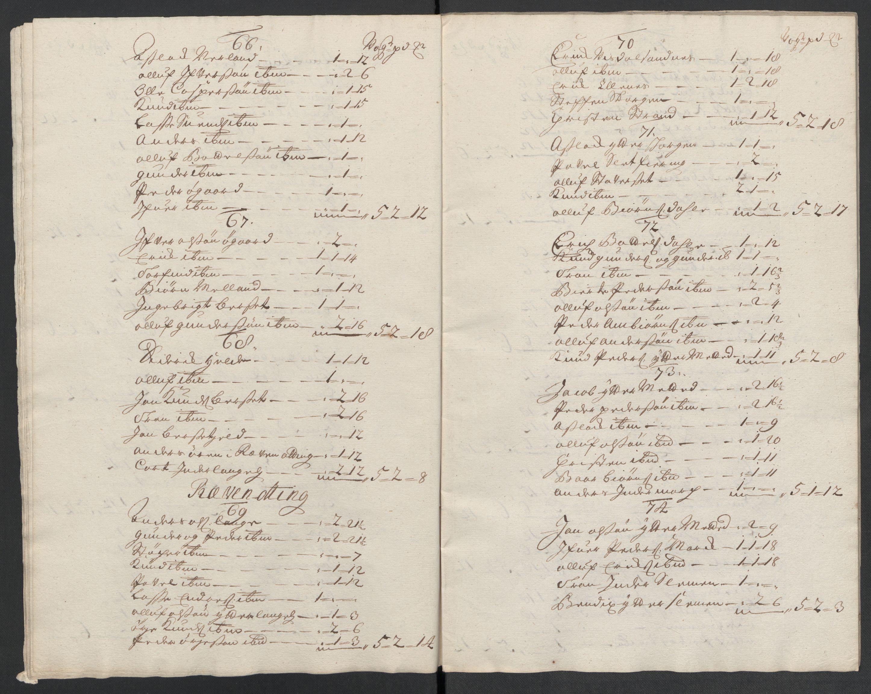 RA, Rentekammeret inntil 1814, Reviderte regnskaper, Fogderegnskap, R55/L3660: Fogderegnskap Romsdal, 1711, s. 90