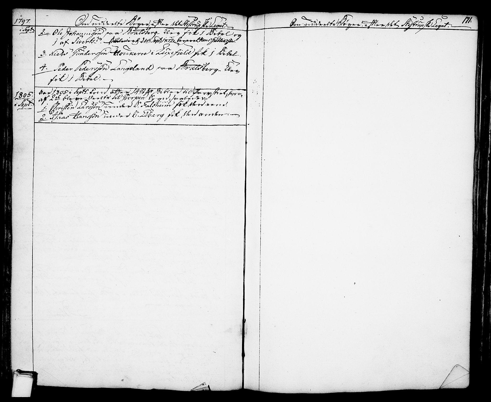 SAKO, Gjerpen kirkebøker, F/Fa/L0002: Ministerialbok nr. 2, 1747-1795, s. 171