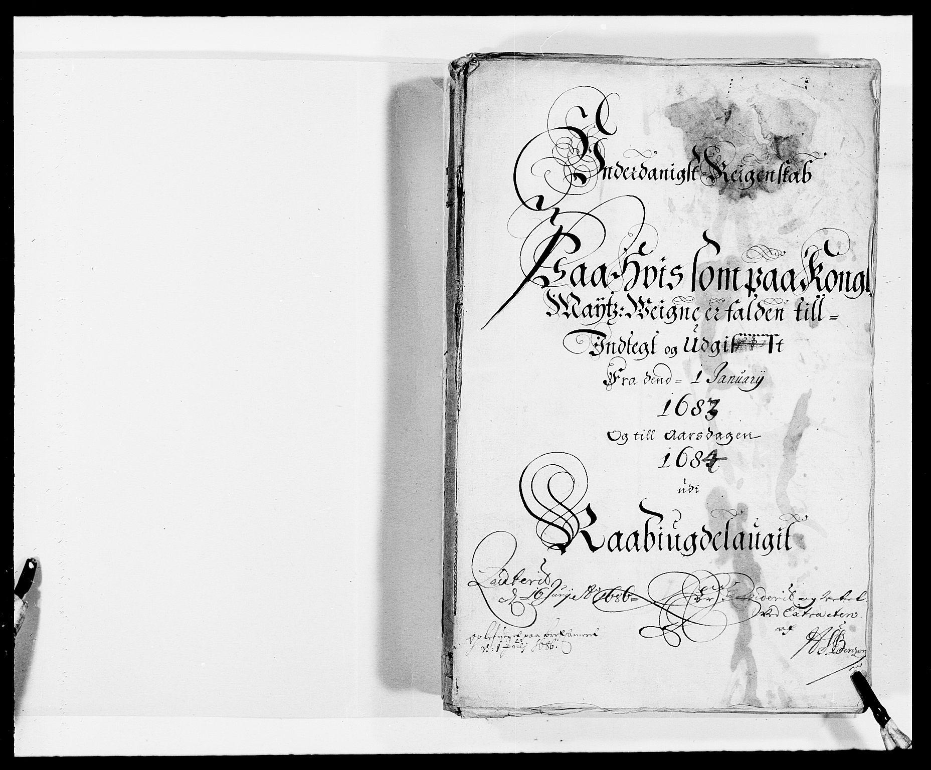 RA, Rentekammeret inntil 1814, Reviderte regnskaper, Fogderegnskap, R40/L2438: Fogderegnskap Råbyggelag, 1682-1683, s. 161