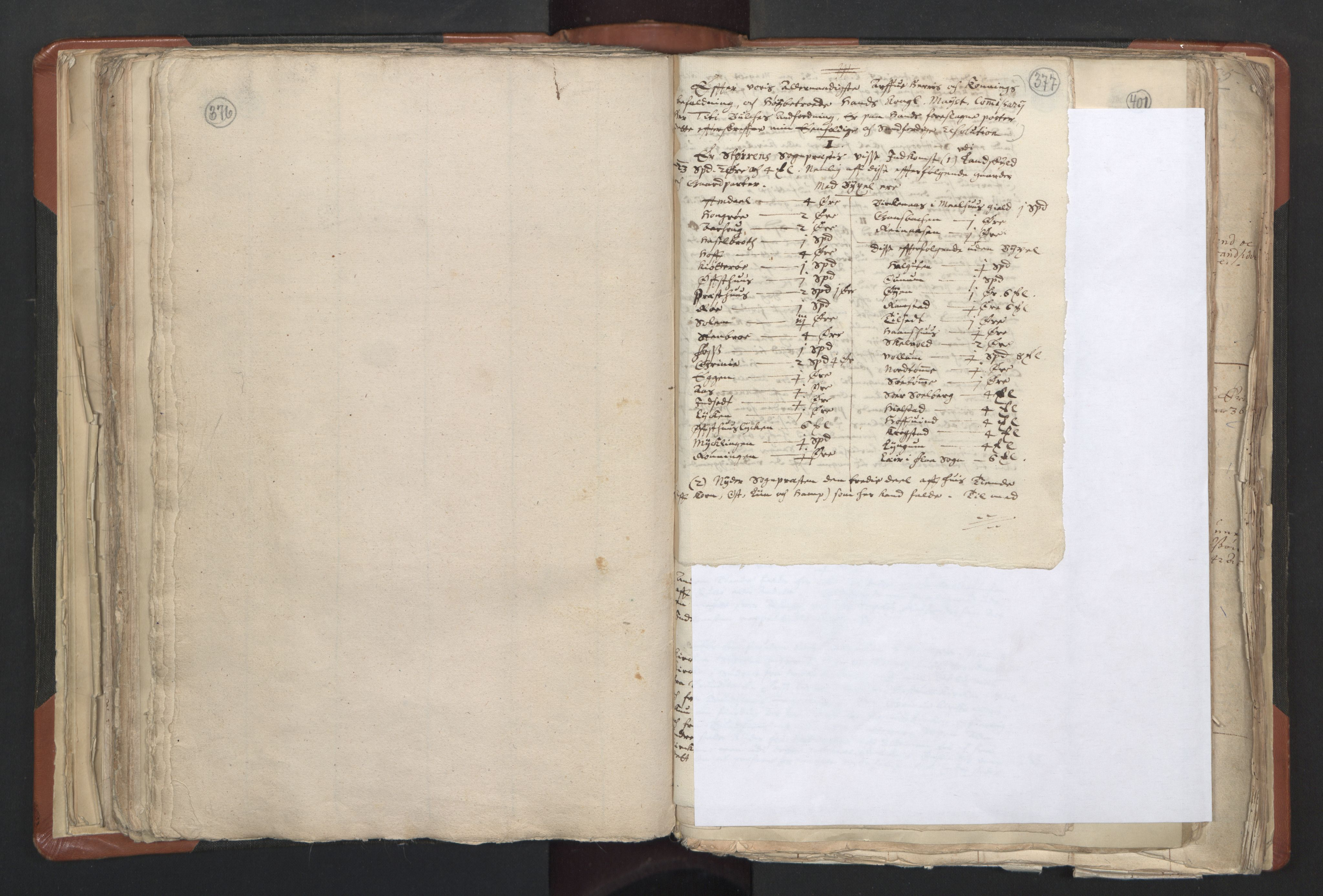 RA, Sogneprestenes manntall 1664-1666, nr. 31: Dalane prosti, 1664-1666, s. 376-377