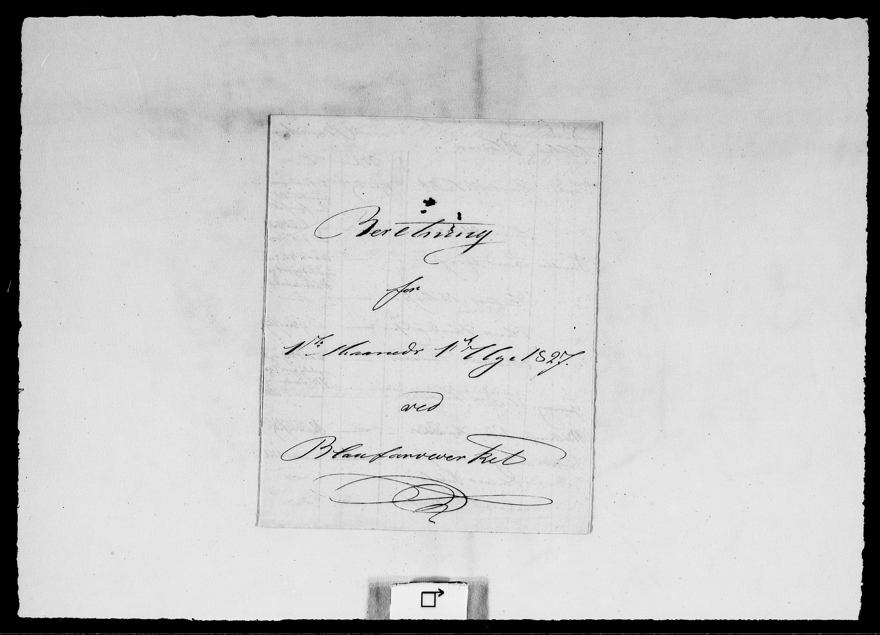 RA, Modums Blaafarveværk, G/Ge/L0319, 1827-1828, s. 2