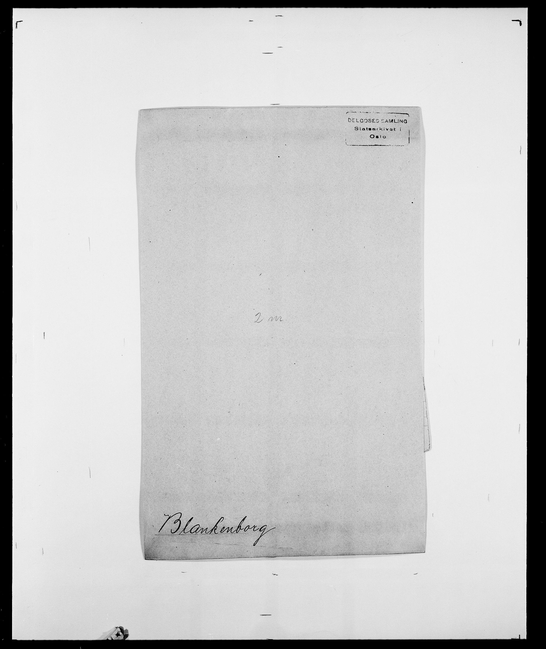 SAO, Delgobe, Charles Antoine - samling, D/Da/L0004: Bergendahl - Blære, s. 538
