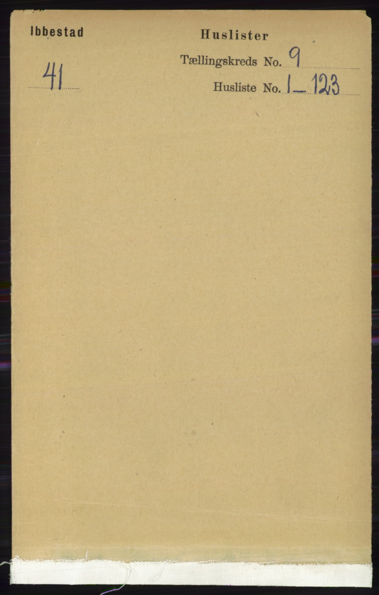 RA, Folketelling 1891 for 1917 Ibestad herred, 1891, s. 5851