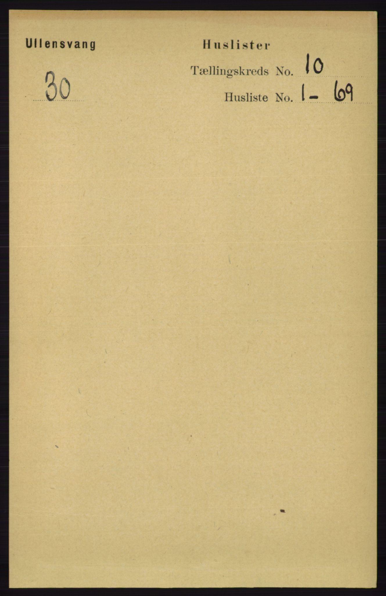 RA, Folketelling 1891 for 1230 Ullensvang herred, 1891, s. 3681