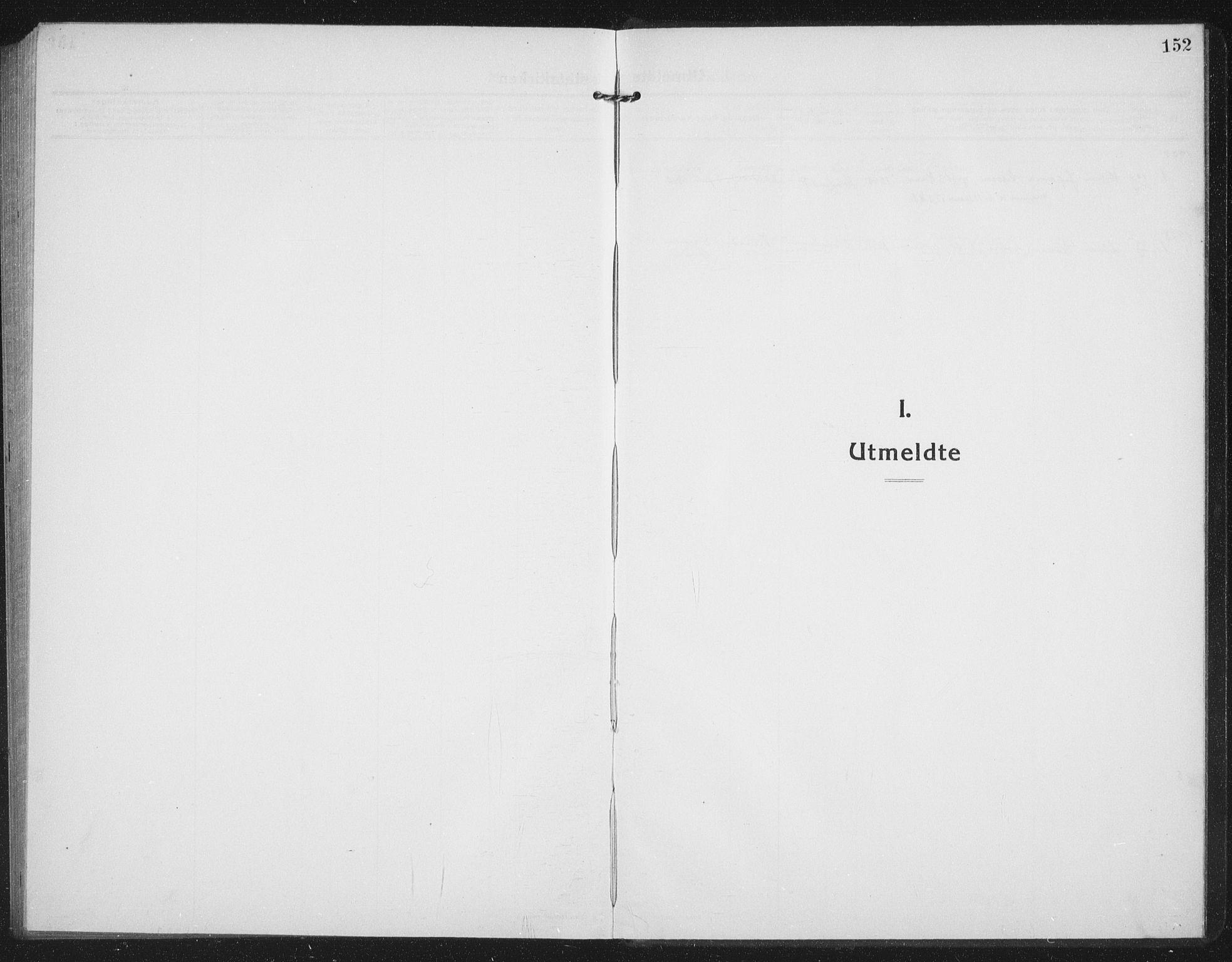SATØ, Tranøy sokneprestkontor, I/Ia/Iab/L0019klokker: Klokkerbok nr. 19, 1914-1940, s. 152