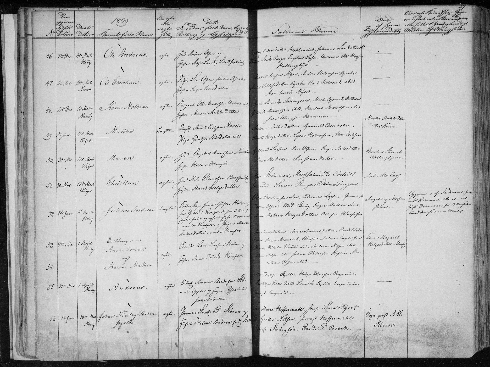 SAKO, Norderhov kirkebøker, F/Fa/L0010: Ministerialbok nr. 10, 1837-1847, s. 27