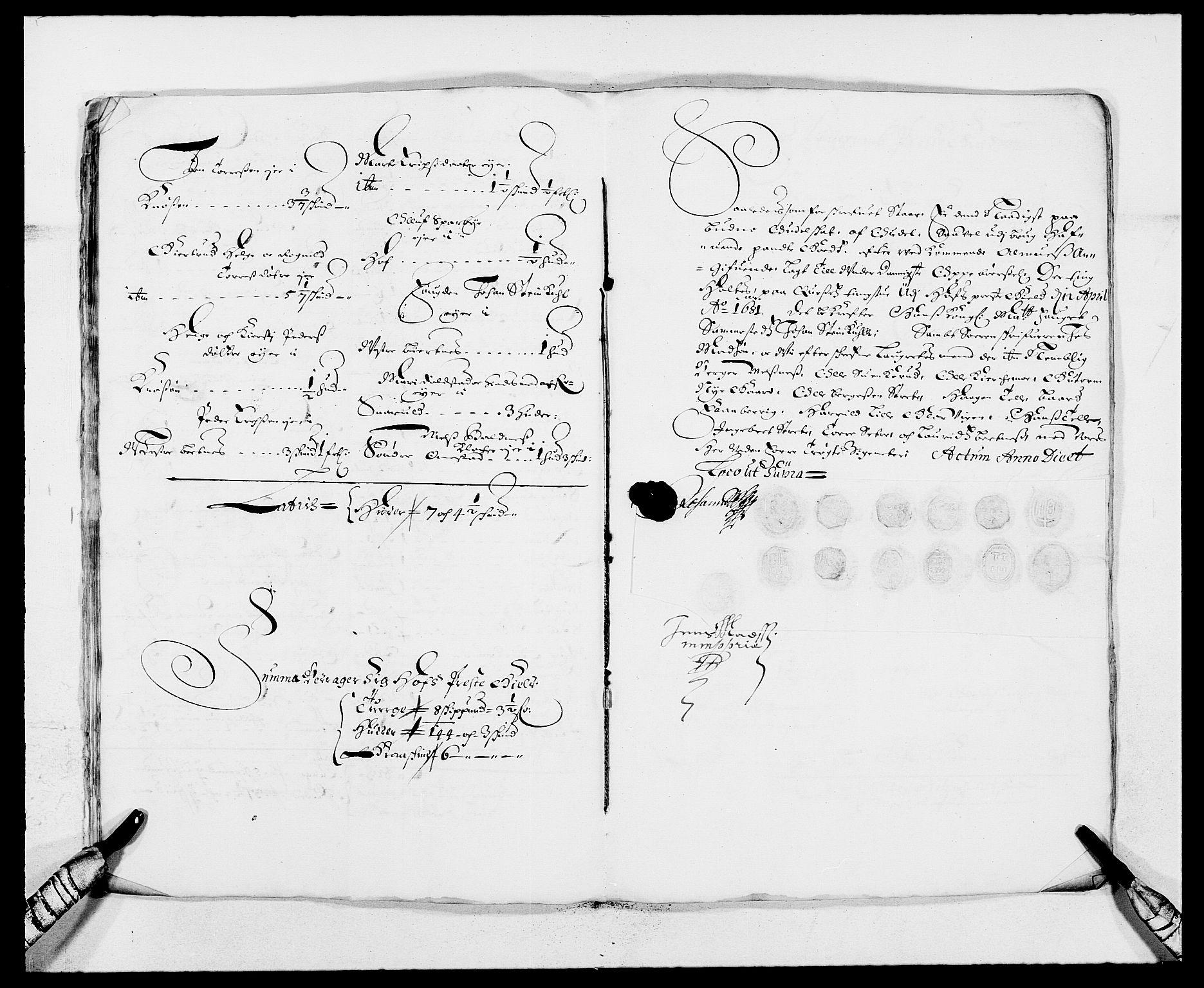 RA, Rentekammeret inntil 1814, Reviderte regnskaper, Fogderegnskap, R13/L0818: Fogderegnskap Solør, Odal og Østerdal, 1681, s. 216