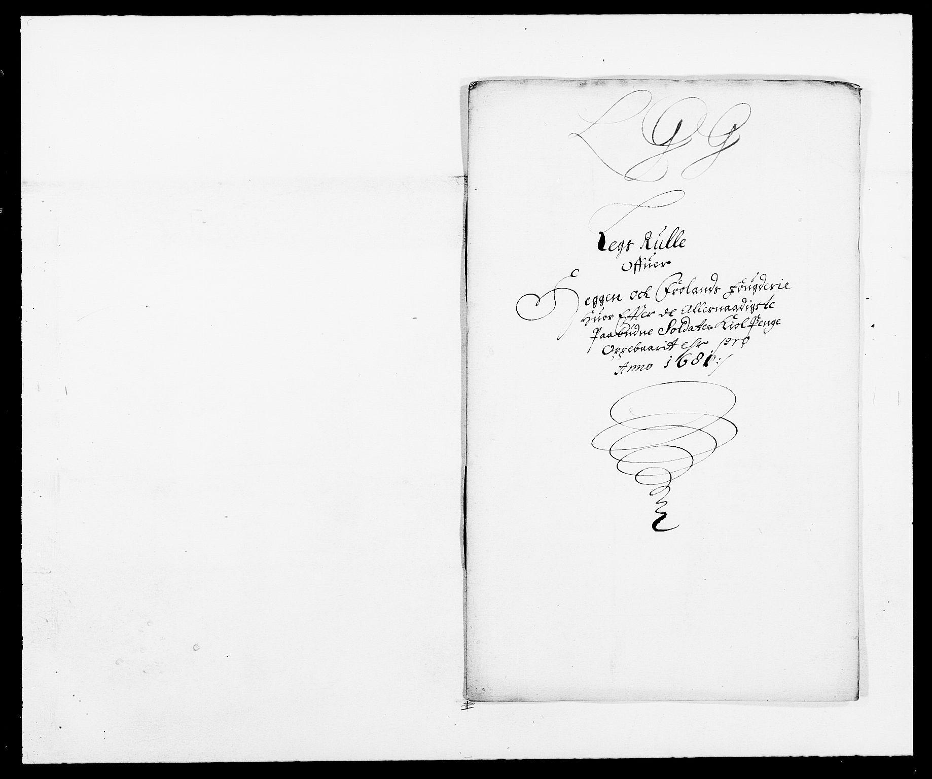 RA, Rentekammeret inntil 1814, Reviderte regnskaper, Fogderegnskap, R06/L0280: Fogderegnskap Heggen og Frøland, 1681-1684, s. 161