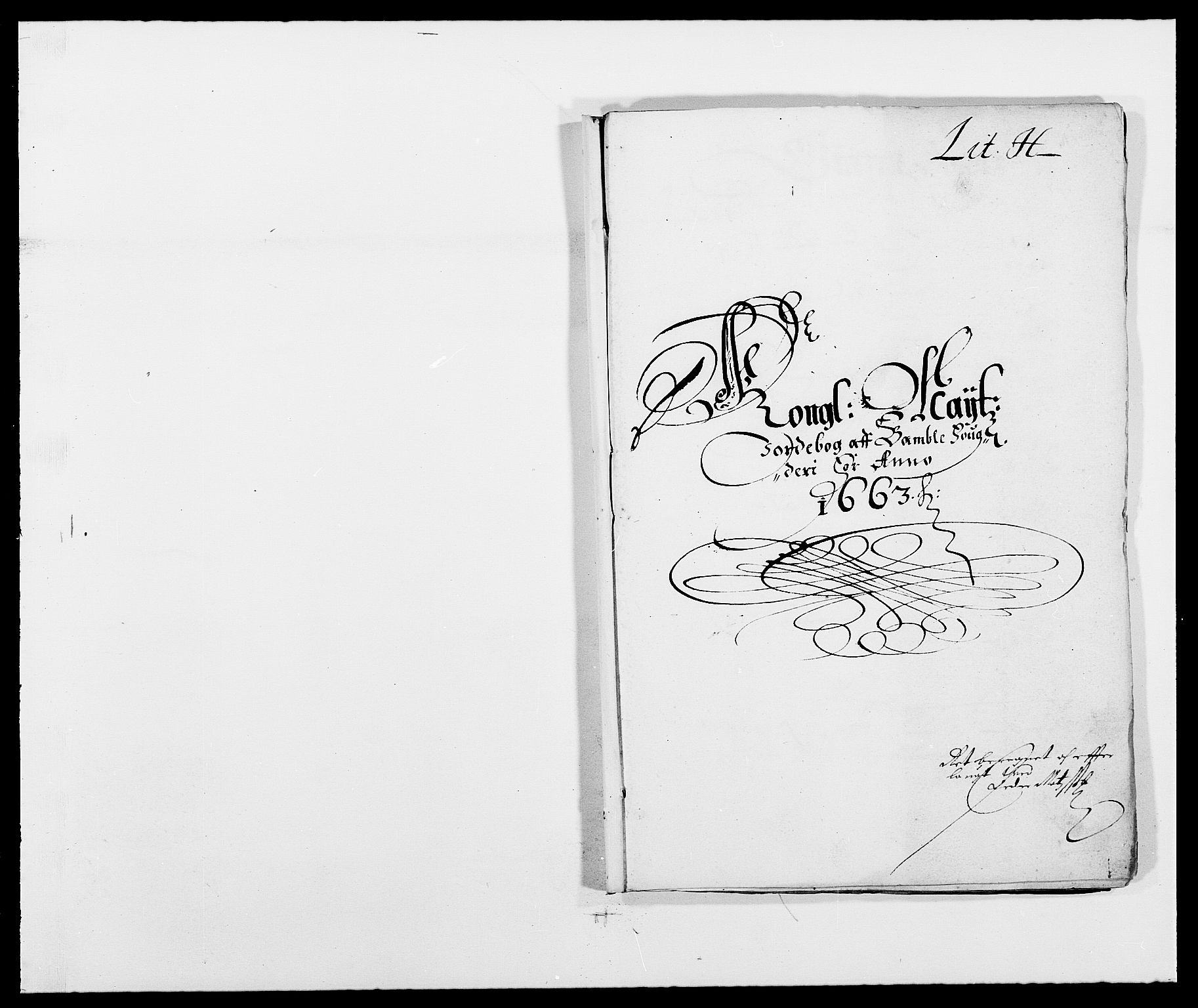RA, Rentekammeret inntil 1814, Reviderte regnskaper, Fogderegnskap, R34/L2037: Fogderegnskap Bamble, 1662-1669, s. 270