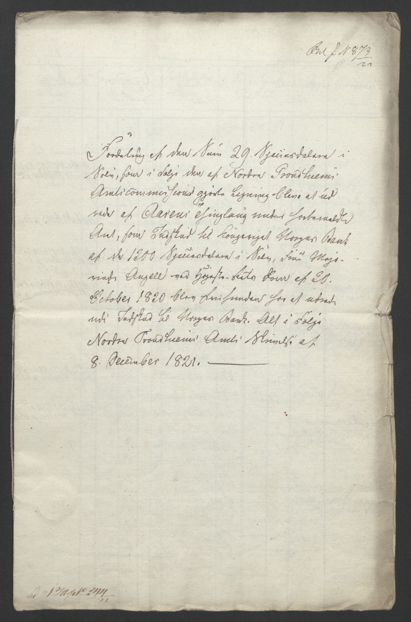 NOBA, Norges Bank/Sølvskatten 1816*, 1816-1822, s. 55
