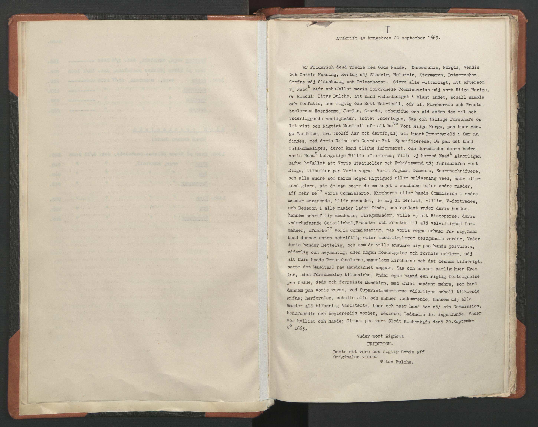 RA, Sogneprestenes manntall 1664-1666, nr. 24: Sunnfjord prosti, 1664-1666, s. upaginert