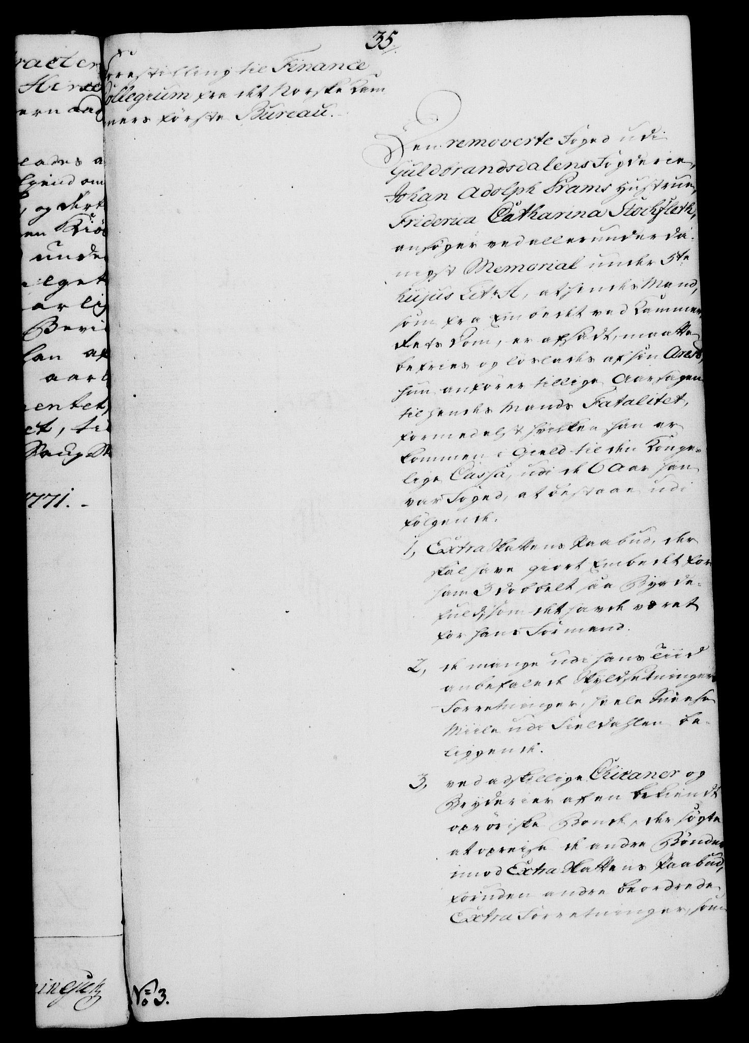 RA, Rentekammeret, Kammerkanselliet, G/Gf/Gfa/L0054: Norsk relasjons- og resolusjonsprotokoll (merket RK 52.54), 1771-1772, s. 83