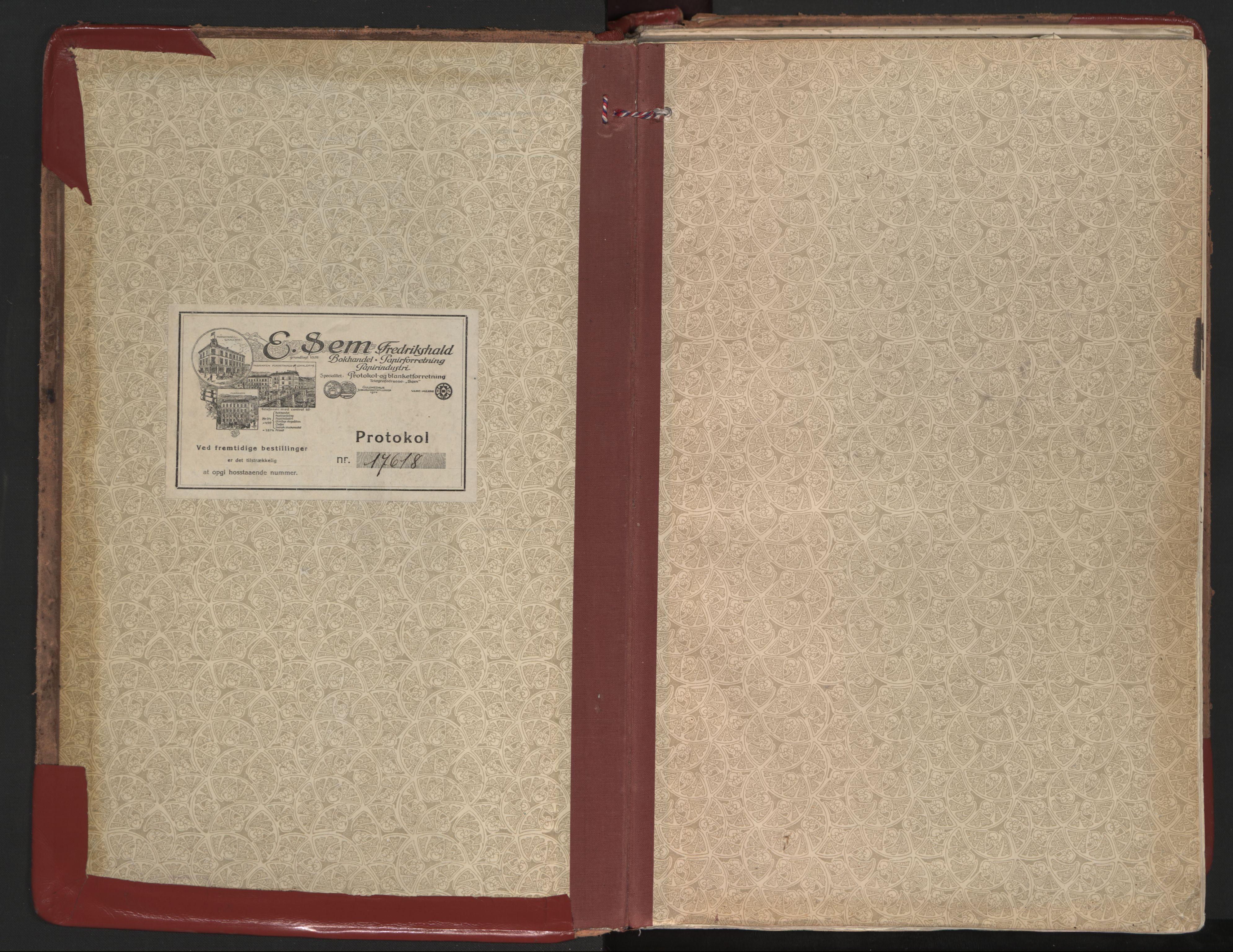 SAT, Ministerialprotokoller, klokkerbøker og fødselsregistre - Nordland, 801/L0017: Ministerialbok nr. 801A17, 1917-1930