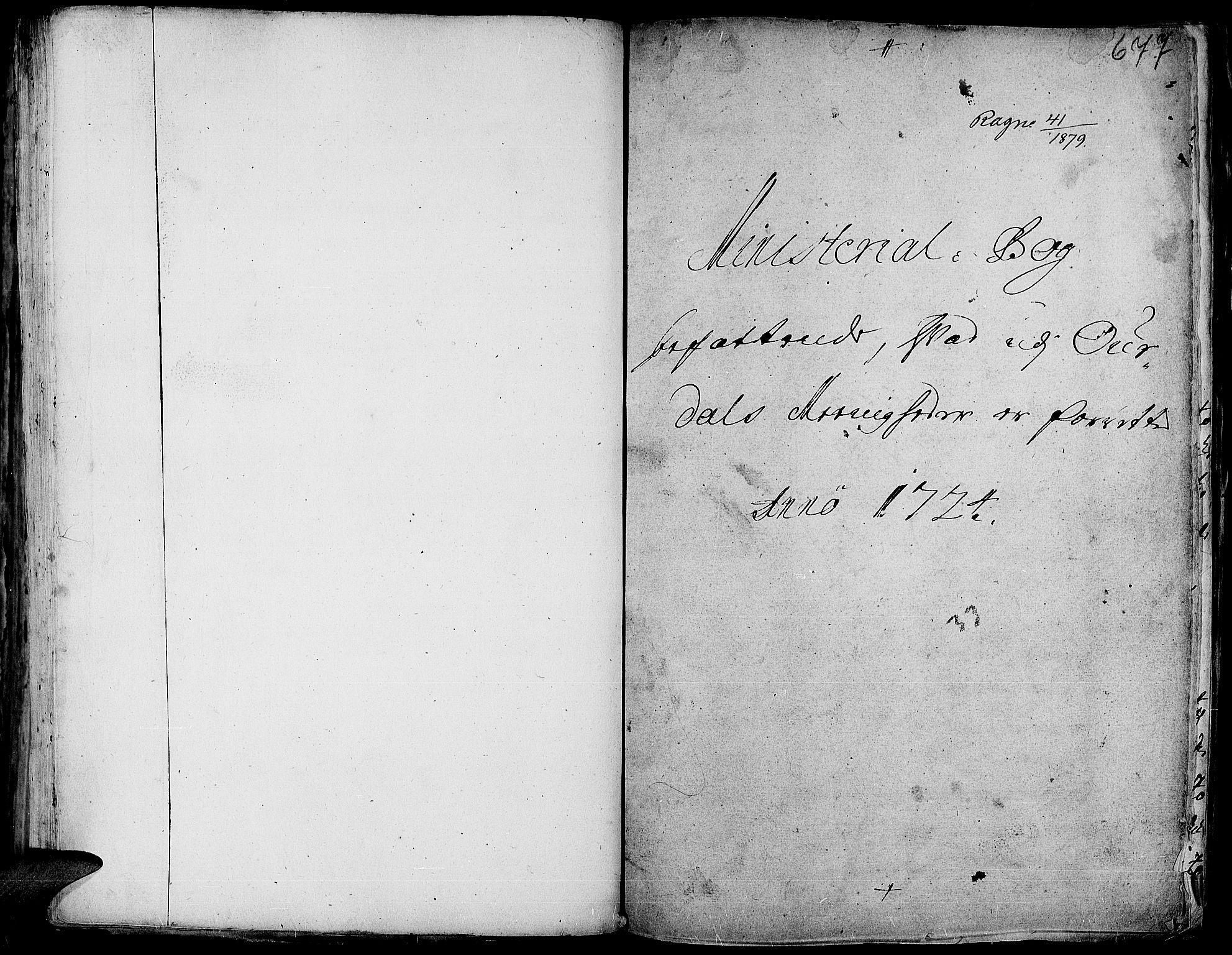 SAH, Aurdal prestekontor, Ministerialbok nr. 1-3, 1692-1730, s. 677