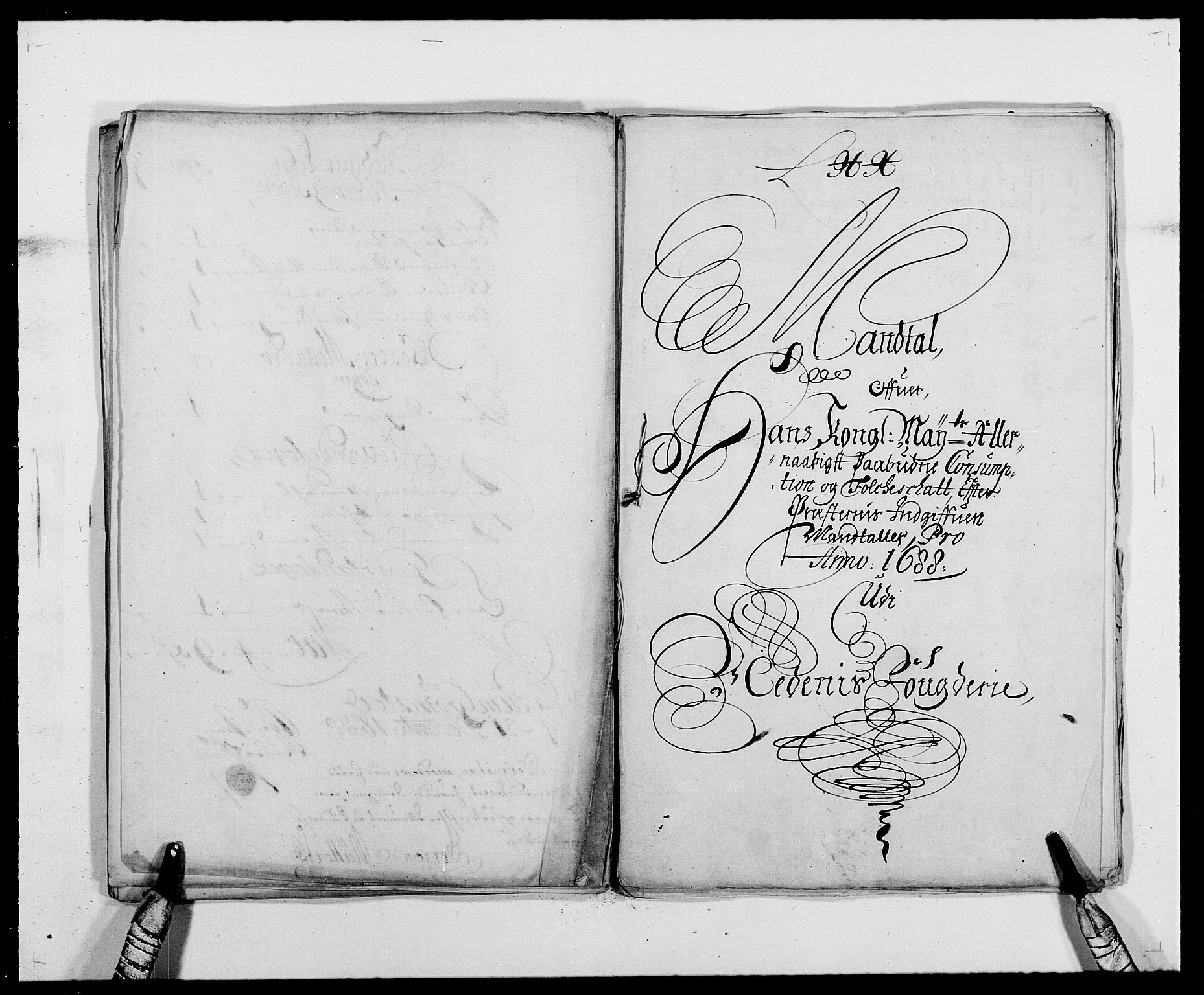 RA, Rentekammeret inntil 1814, Reviderte regnskaper, Fogderegnskap, R39/L2309: Fogderegnskap Nedenes, 1684-1689, s. 233