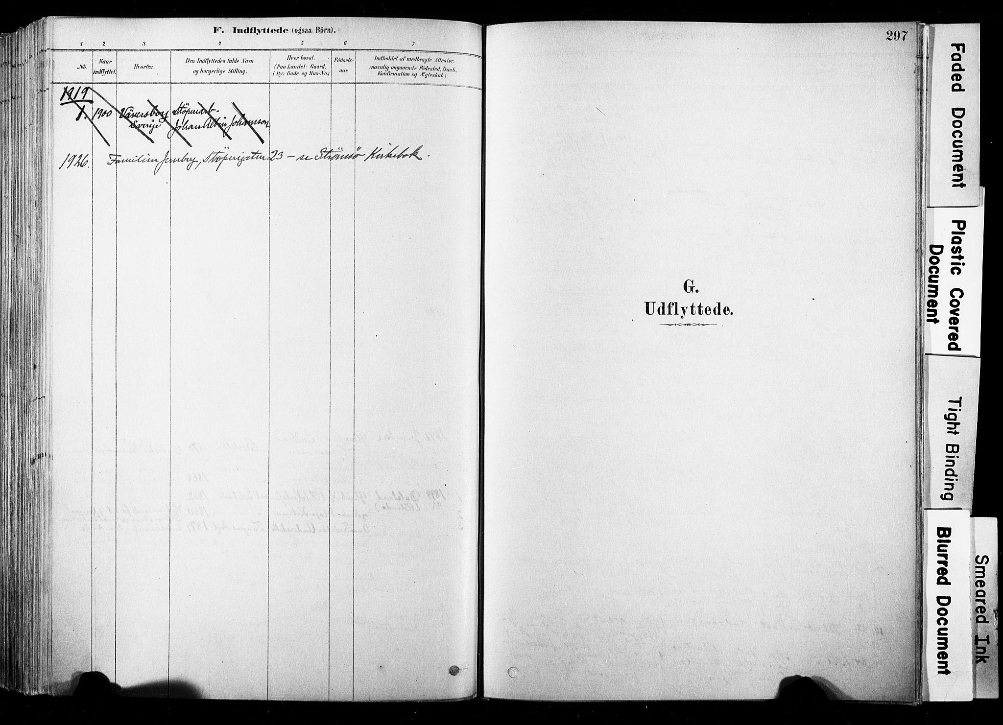 SAKO, Strømsø kirkebøker, F/Fb/L0006: Ministerialbok nr. II 6, 1879-1910, s. 297