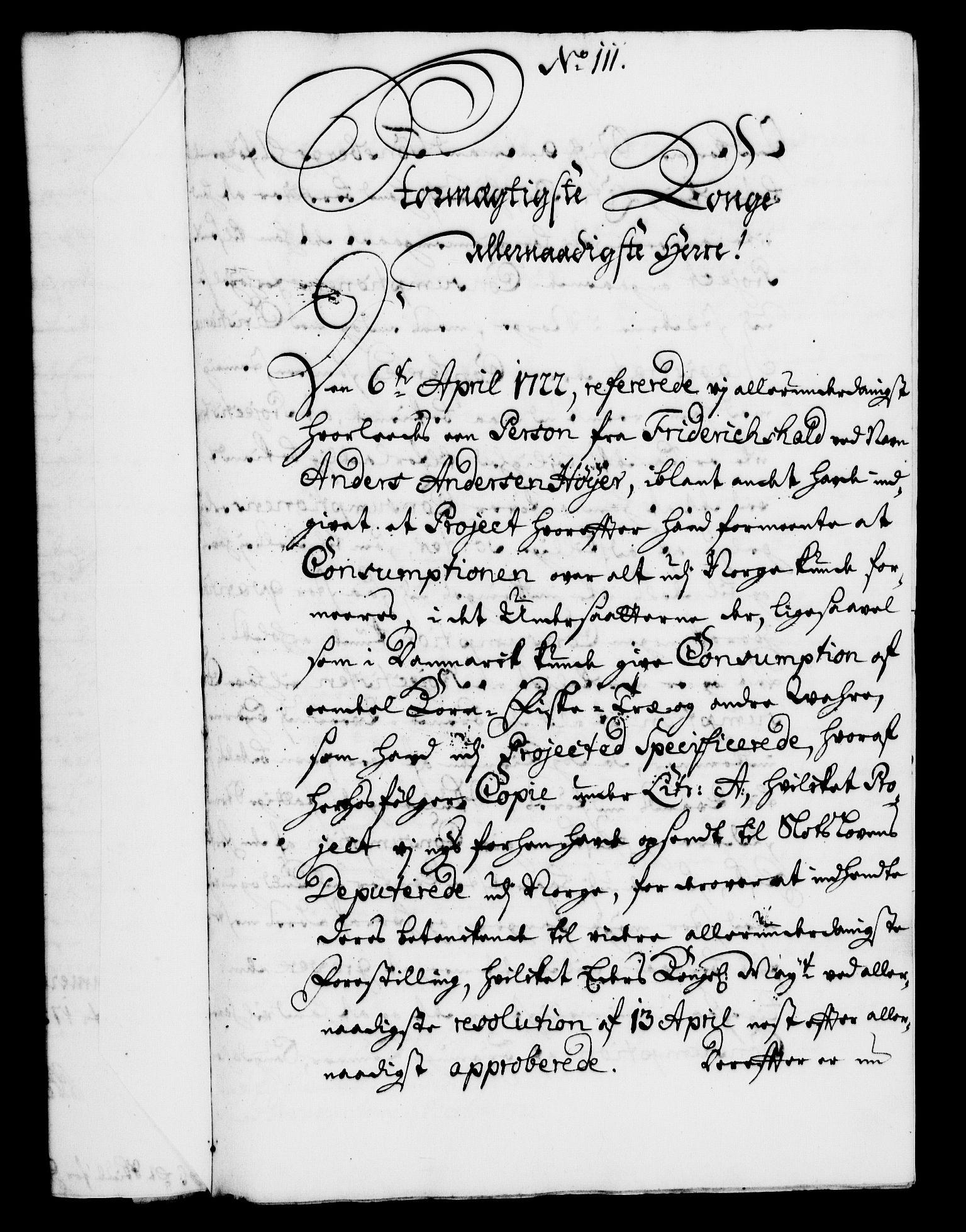 RA, Rentekammeret, Kammerkanselliet, G/Gf/Gfa/L0005: Norsk relasjons- og resolusjonsprotokoll (merket RK 52.5), 1722, s. 571