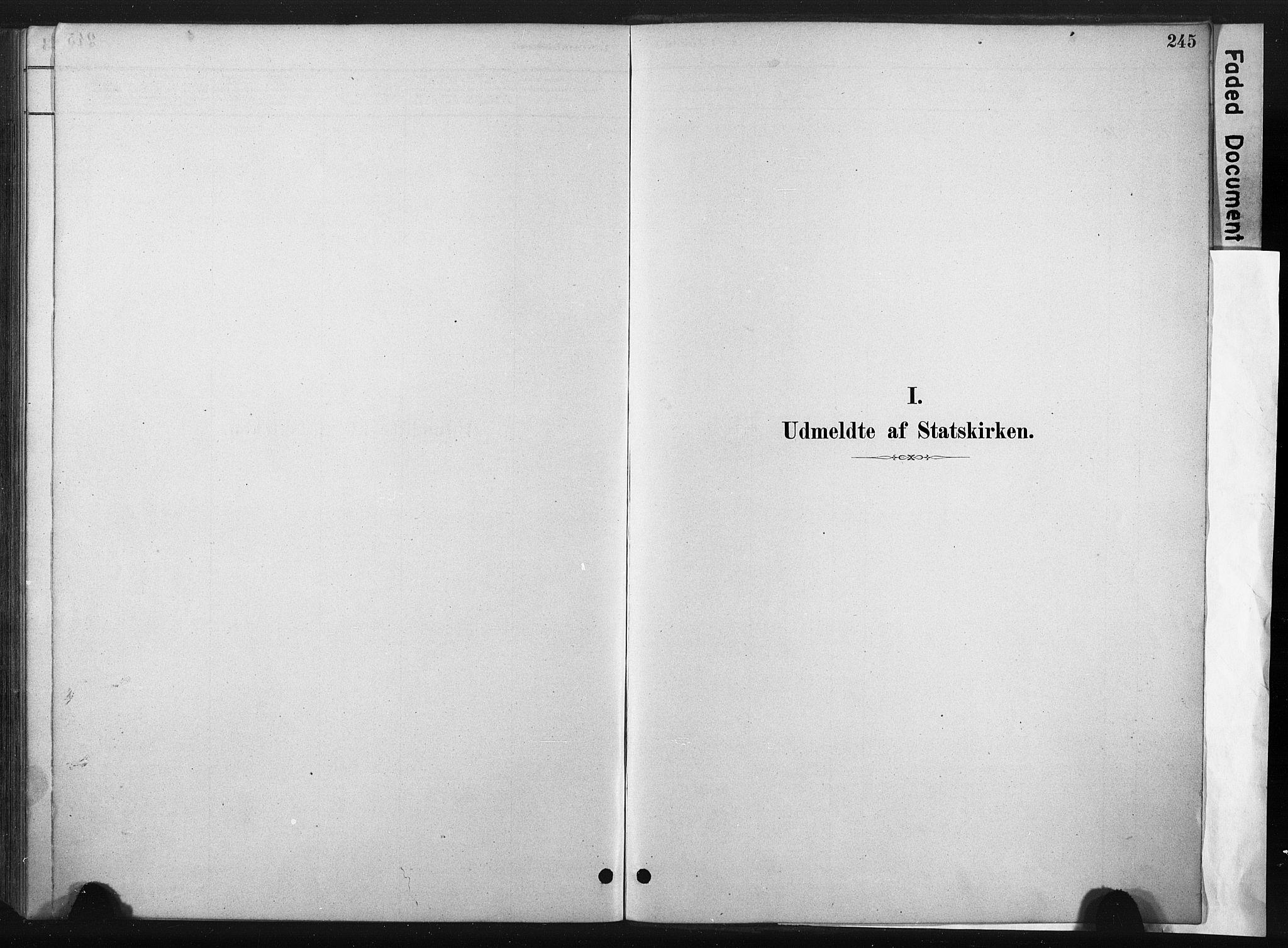 SAT, Ministerialprotokoller, klokkerbøker og fødselsregistre - Sør-Trøndelag, 667/L0795: Ministerialbok nr. 667A03, 1879-1907, s. 245