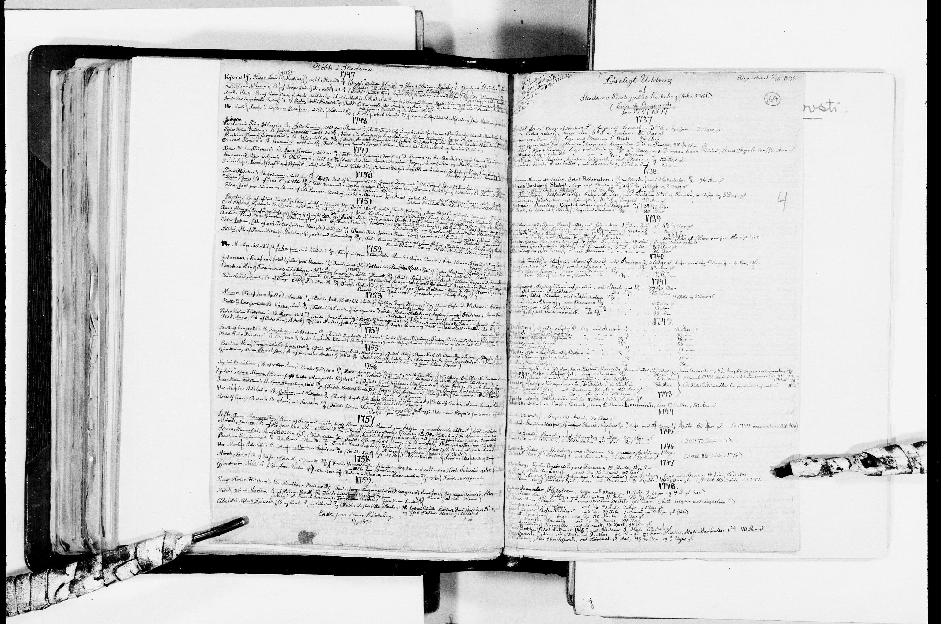 RA, Lassens samlinger, F/Fc, s. 164