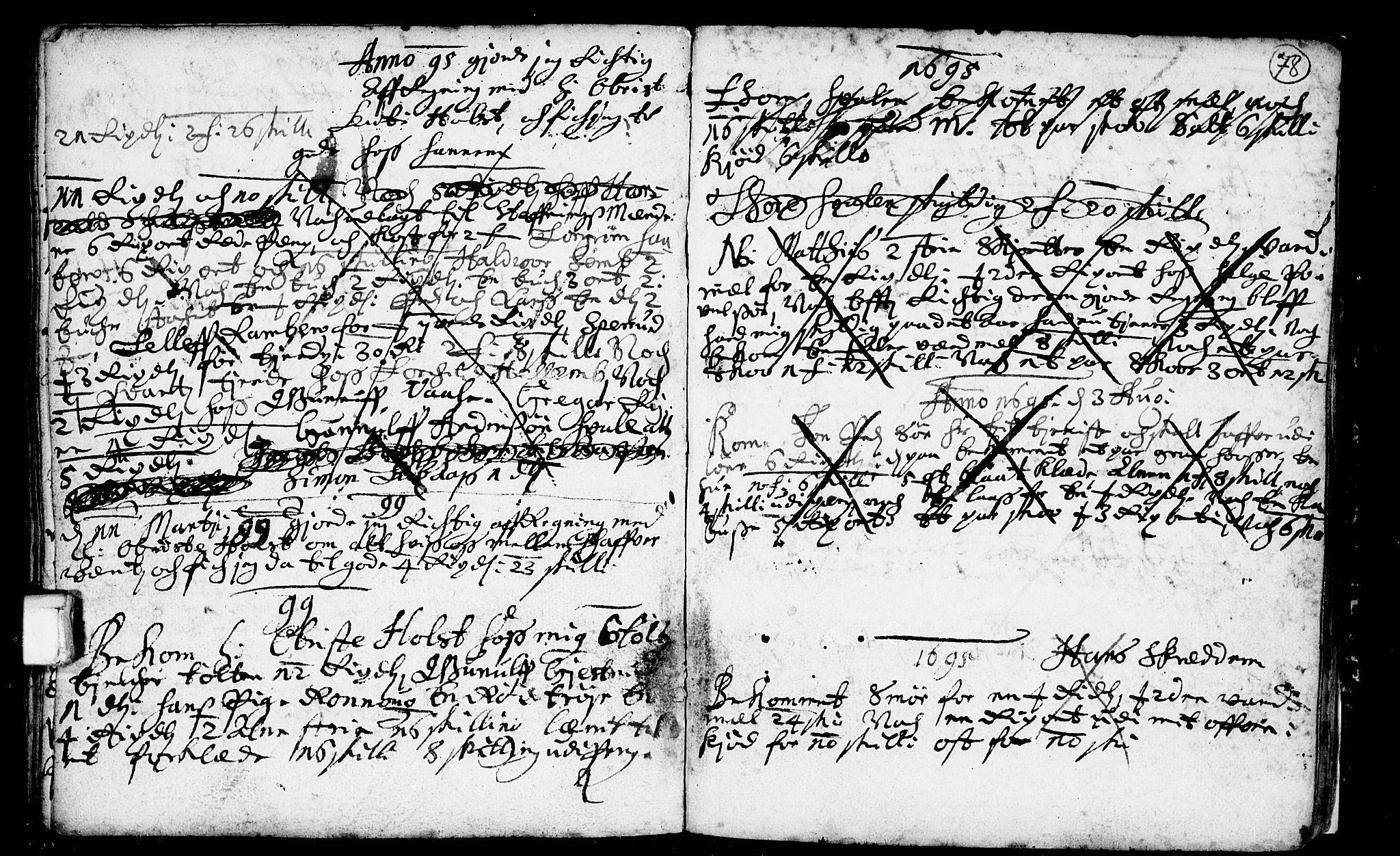 SAKO, Heddal kirkebøker, F/Fa/L0001: Ministerialbok nr. I 1, 1648-1699, s. 78
