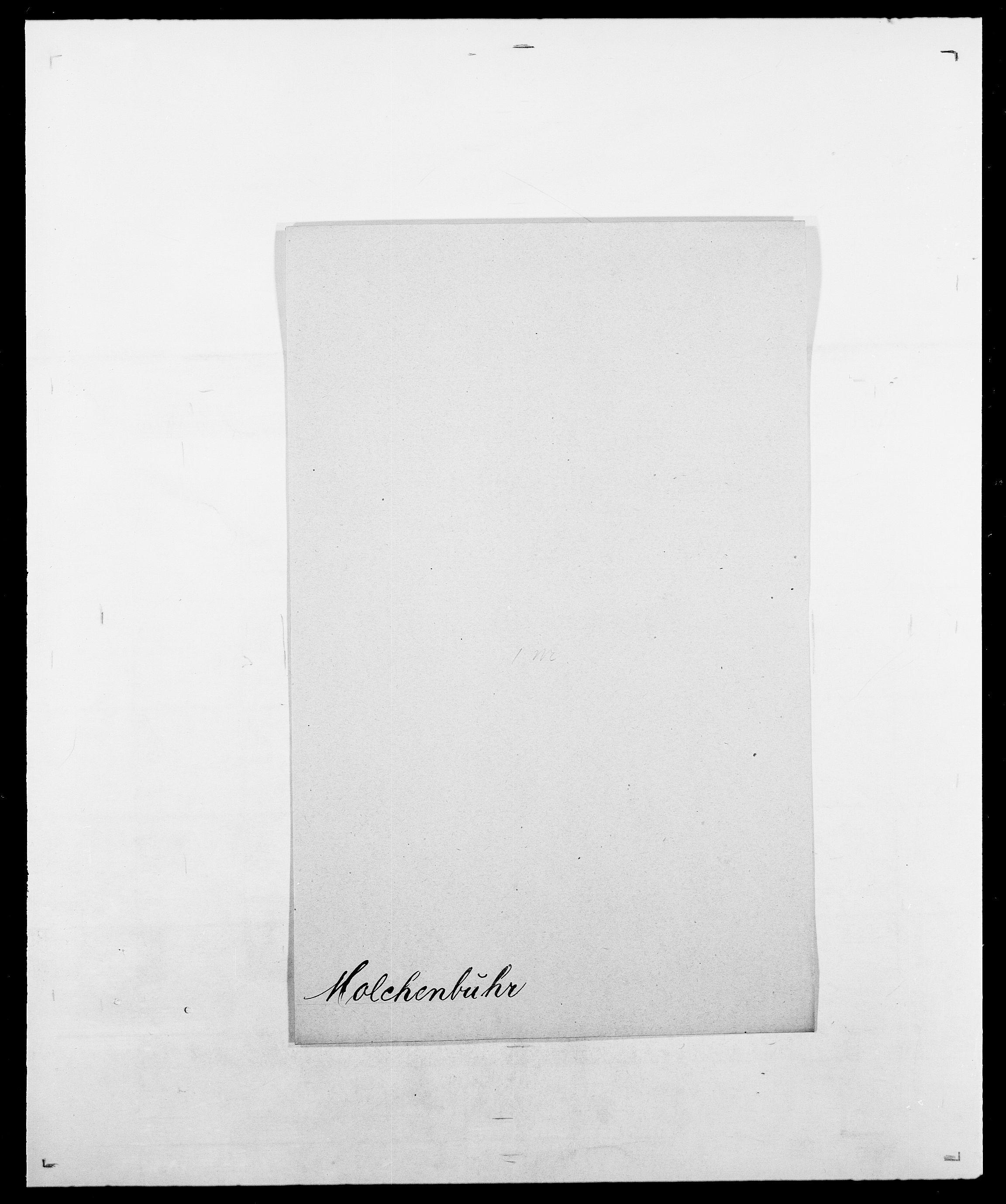 SAO, Delgobe, Charles Antoine - samling, D/Da/L0026: Mechelby - Montoppidan, s. 741