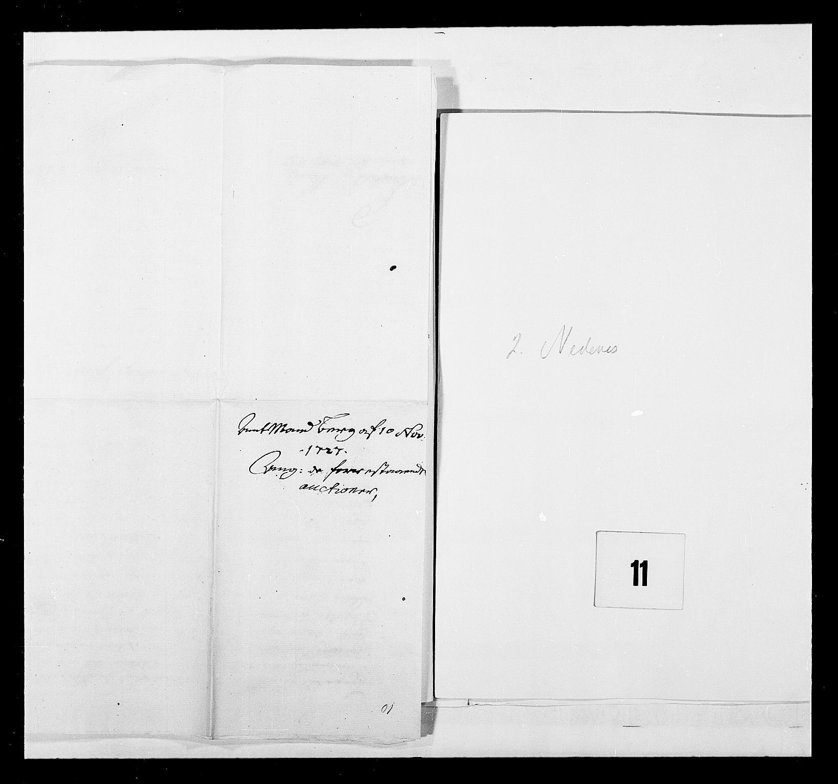 RA, Stattholderembetet 1572-1771, Ek/L0040: Jordebøker o.a. 1720-1728 vedkommende krongodset:, 1726-1727, s. 23